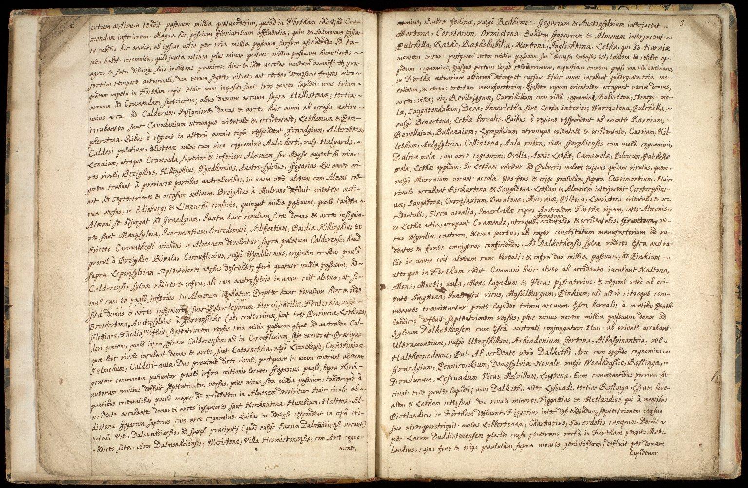 Provincia Edinburgena descriptio. [3 of 7]