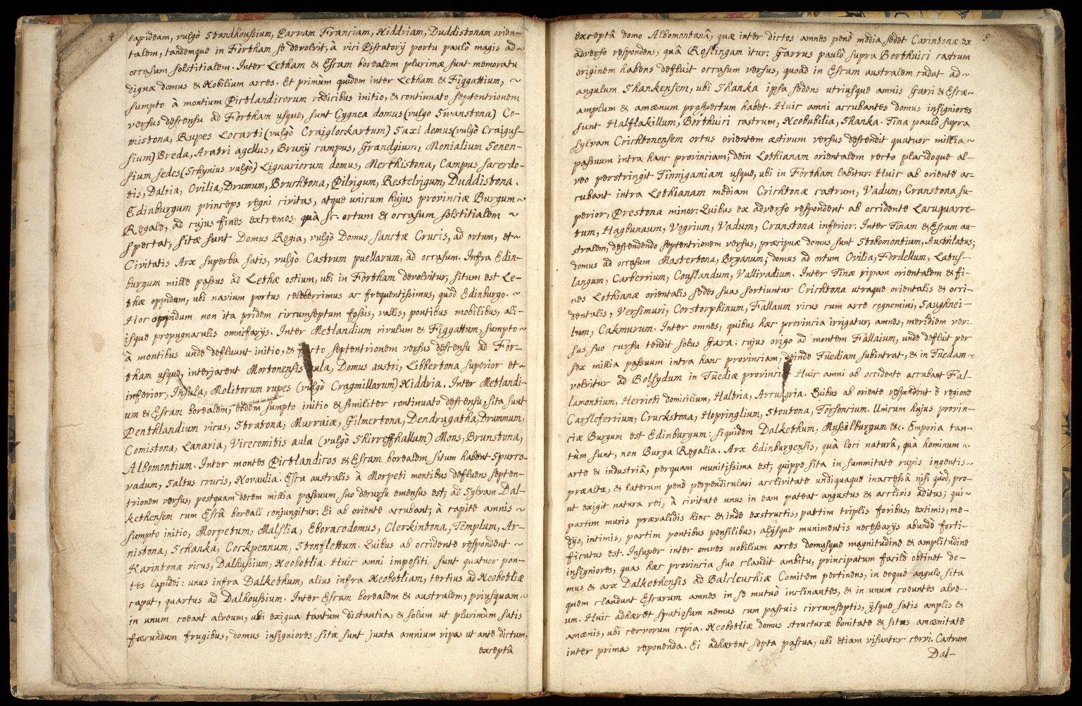 Provincia Edinburgena descriptio. [4 of 7]