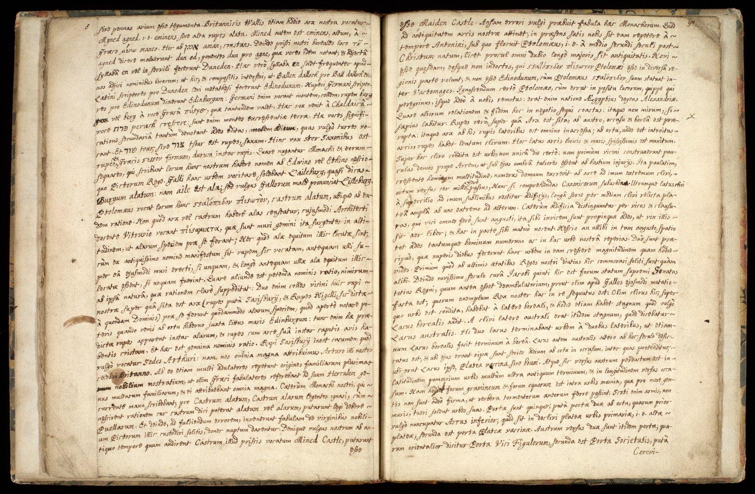 Provincia Edinburgena descriptio. [6 of 7]