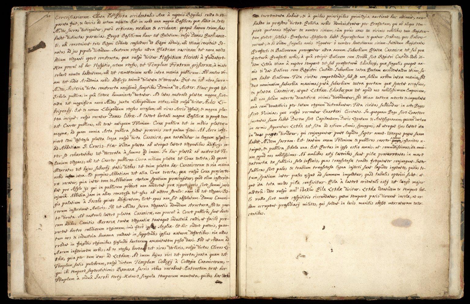 Provincia Edinburgena descriptio. [7 of 7]