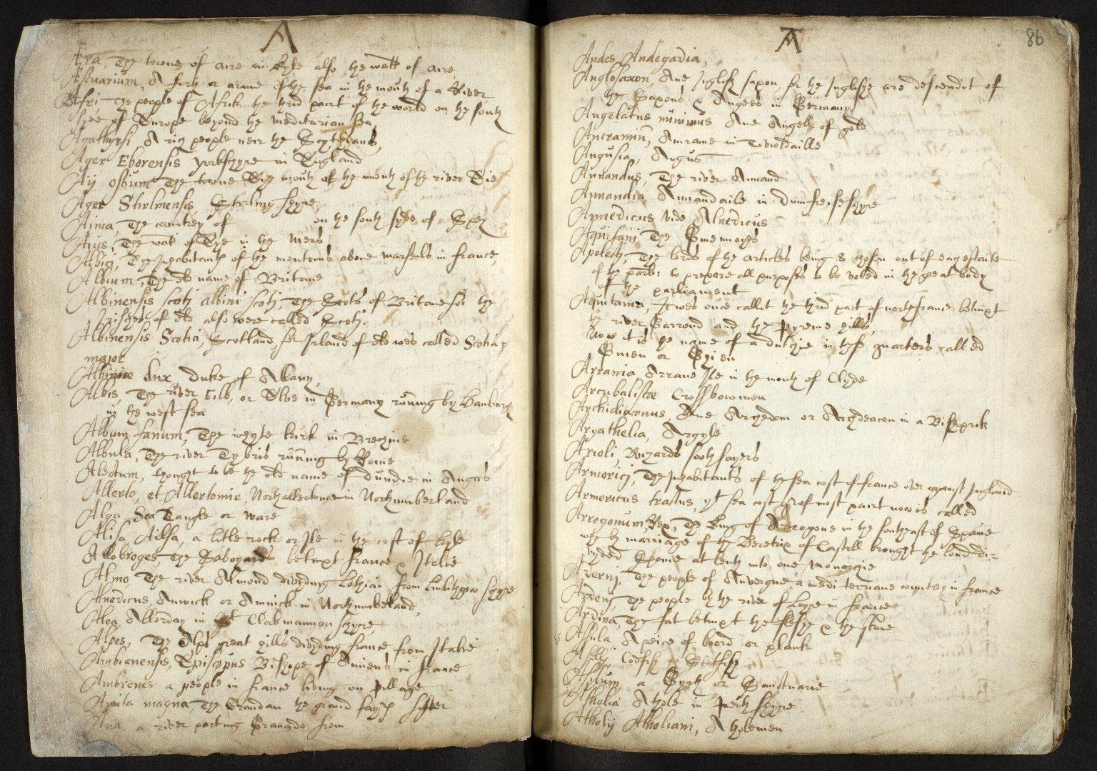 Nomenclator Geographicus ad historiam Buchanan cum interpretatione aliarum etiam vocum difficiliorum [02 of 16]