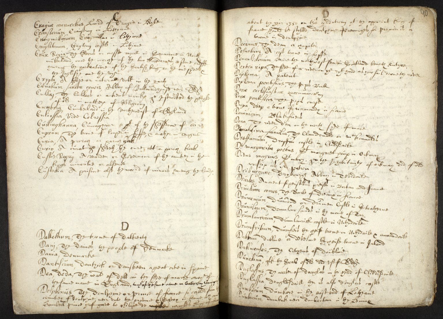 Nomenclator Geographicus ad historiam Buchanan cum interpretatione aliarum etiam vocum difficiliorum [06 of 16]