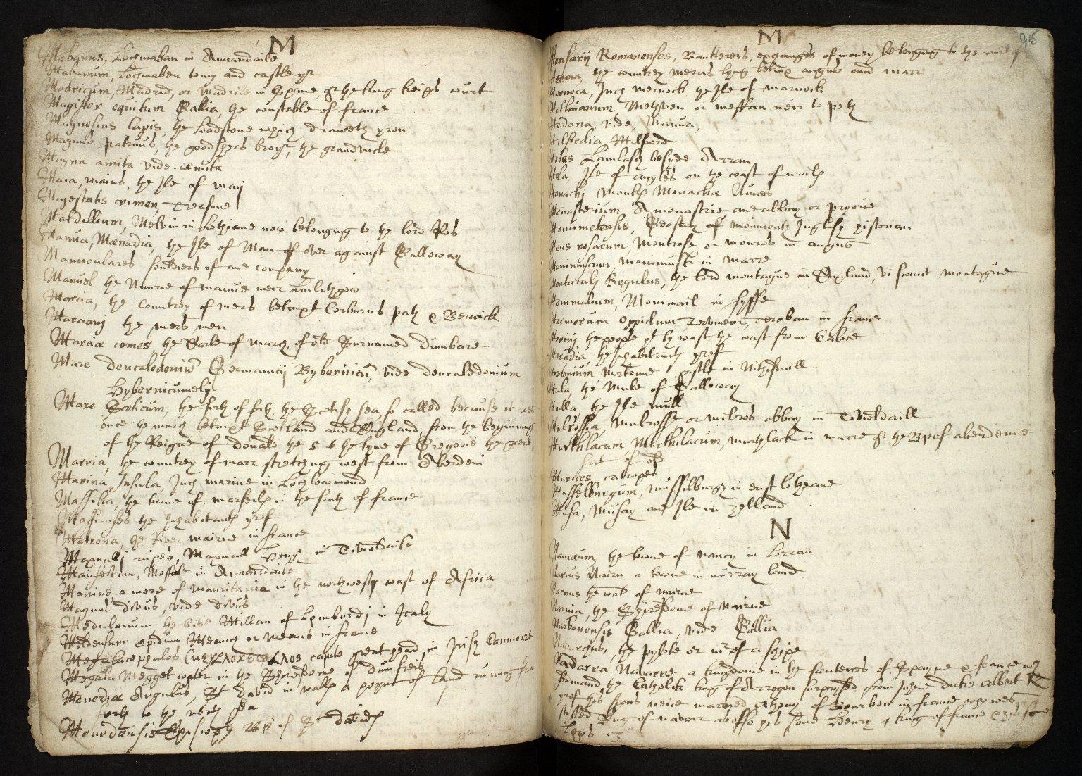 Nomenclator Geographicus ad historiam Buchanan cum interpretatione aliarum etiam vocum difficiliorum [11 of 16]