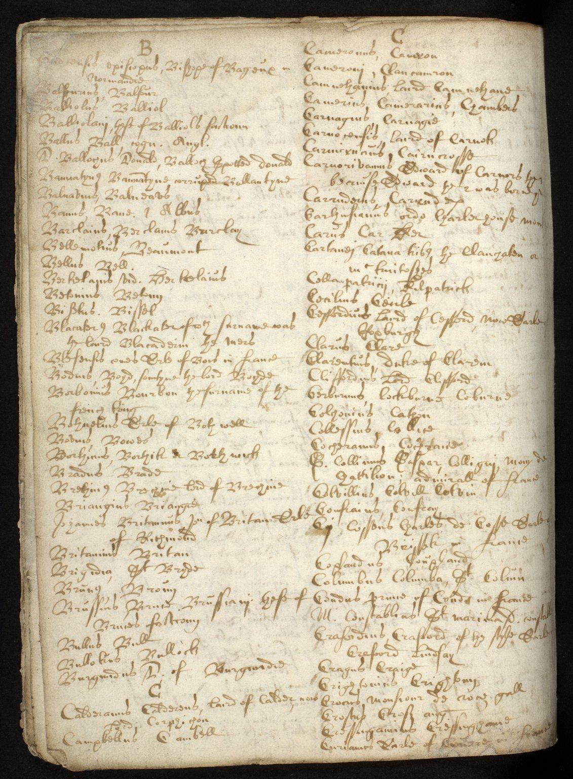 Nomenclator Geographicus ad historiam Buchanan cum interpretatione aliarum etiam vocum difficiliorum [16 of 16]