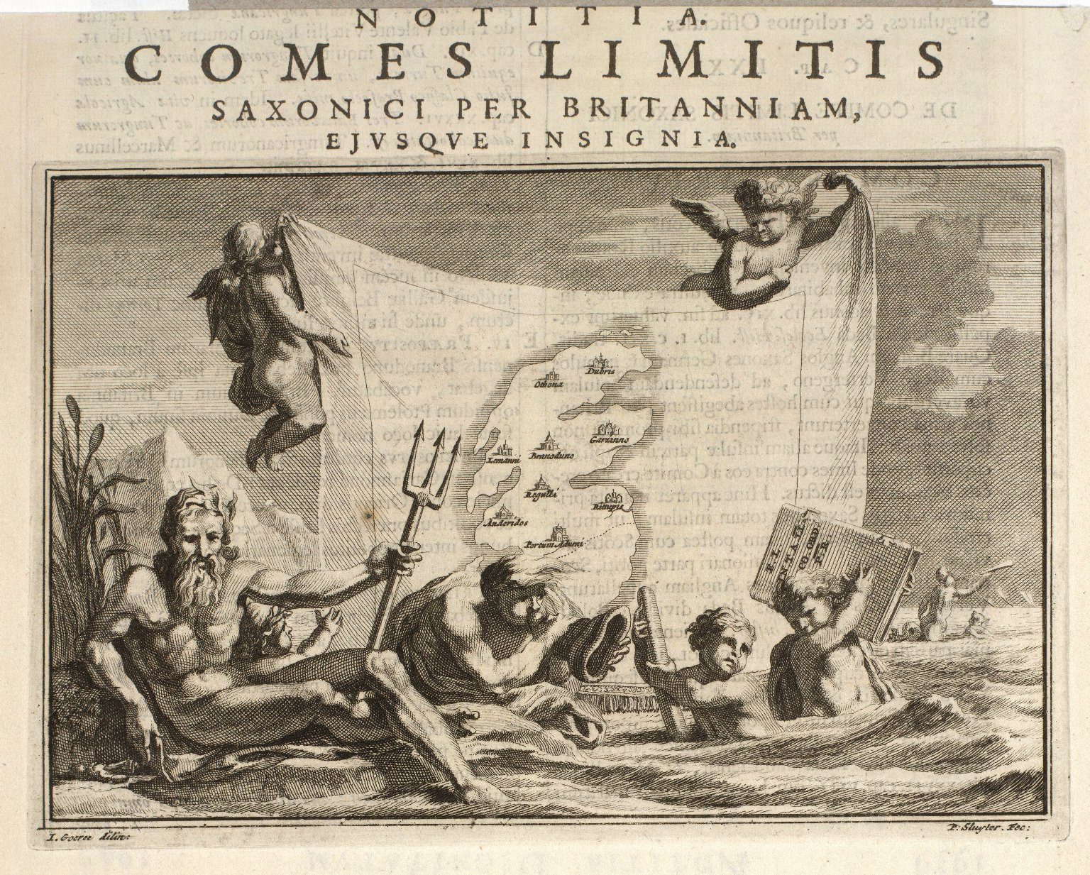 Comes limitis Saxonici per Britanniam ejusque insigniae [1 of 2]