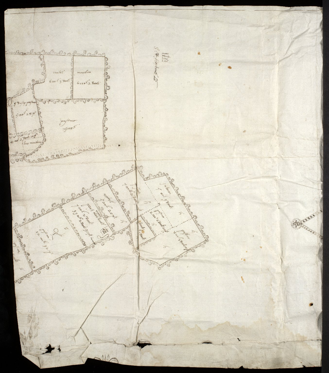 [Plan of the estate of Sir Alex. Cumming of Culter, c. 1702-25] [1 of 2]