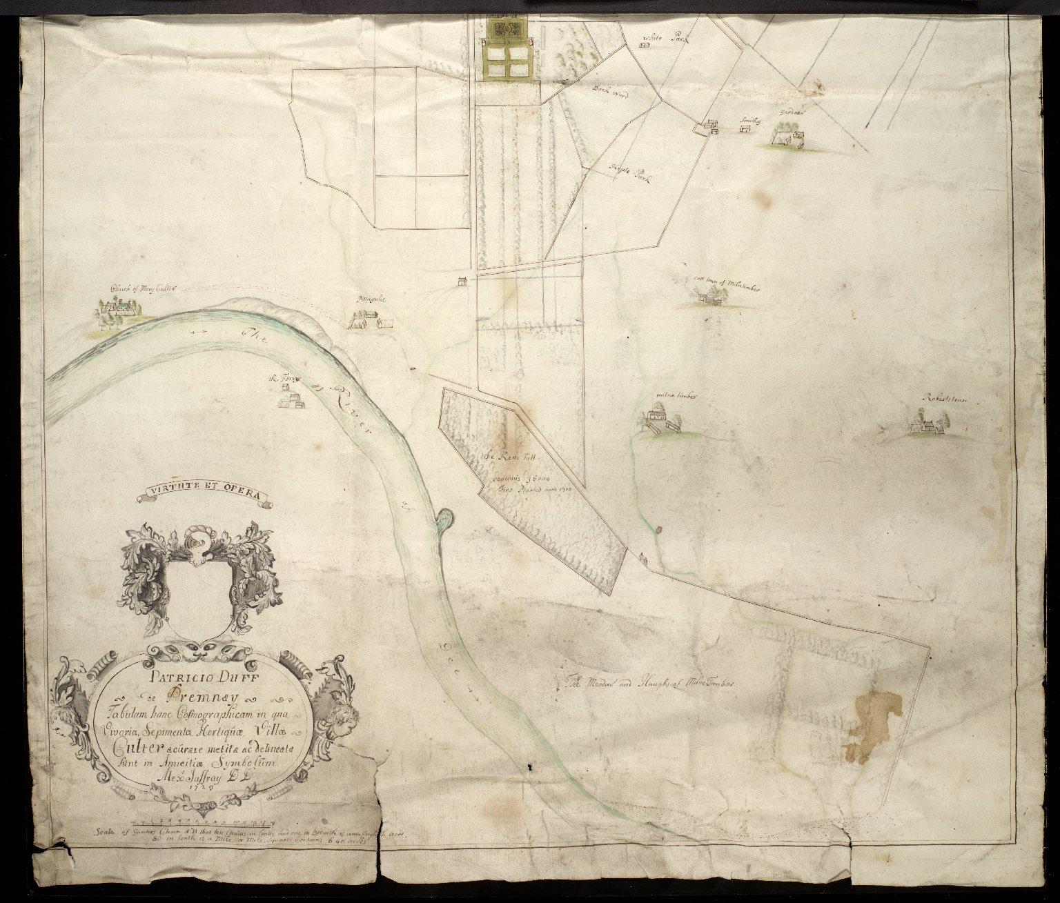 Tabulam hanc Cosmographicam in qua Vivaria, Septimenta, Horliquae, Villae Culter / [2 of 2]