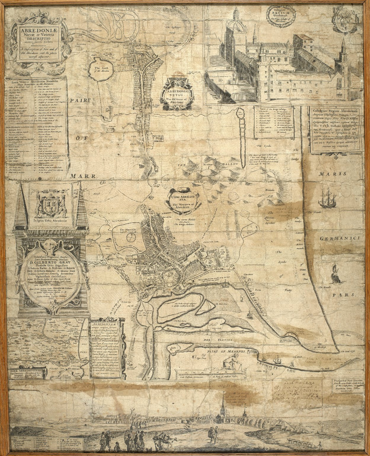 Abredoniae novae et veteris descriptio = A description of new and of old Aberdeens, with the places neerest adjacent / auctore Jacobo Gordono. [1 of 1]