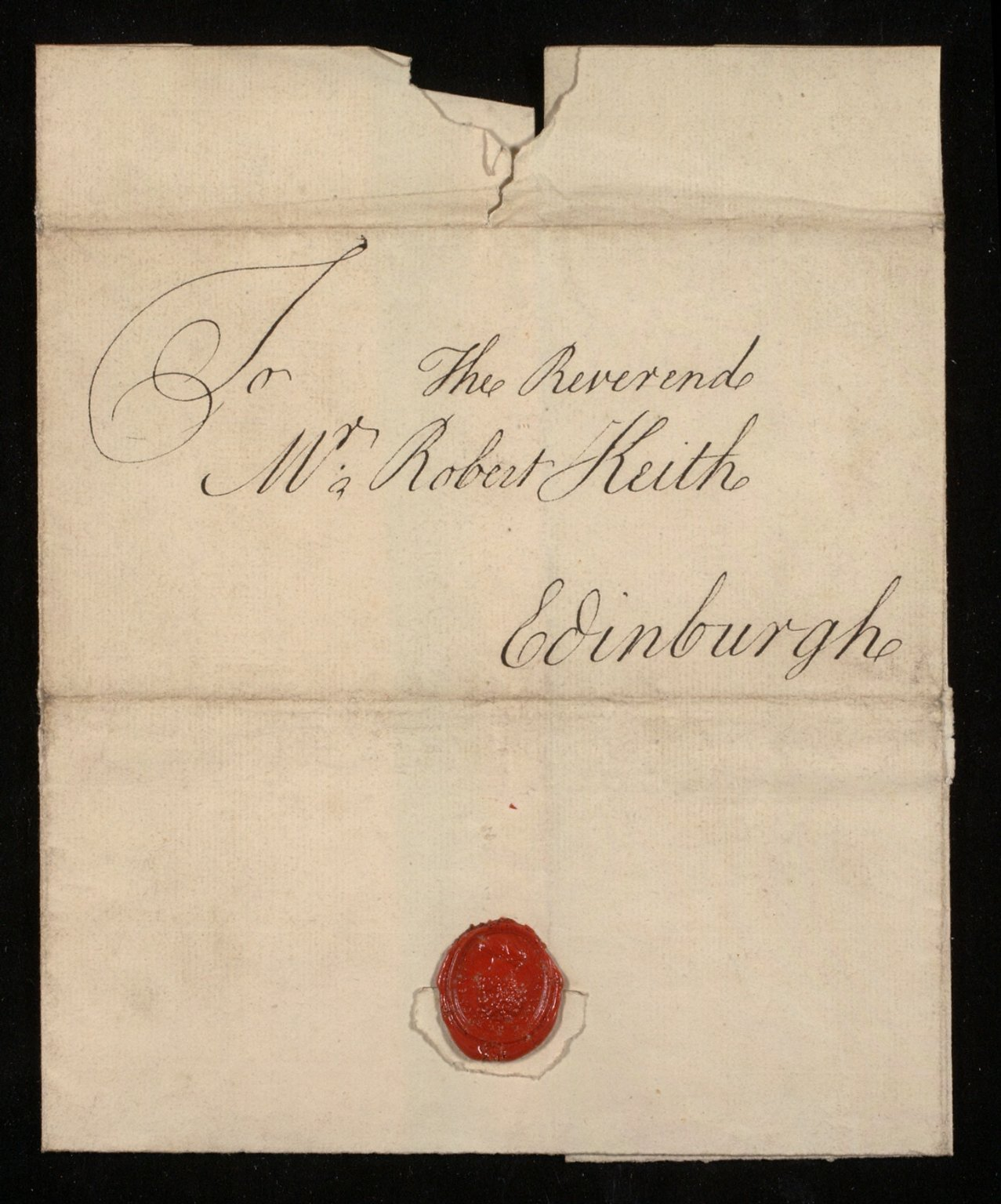 [Letter from Thomas Blackwell, Marischal College, Aberdeen, to Bishop Robert Keith, 18 November 1752] [3 of 3]