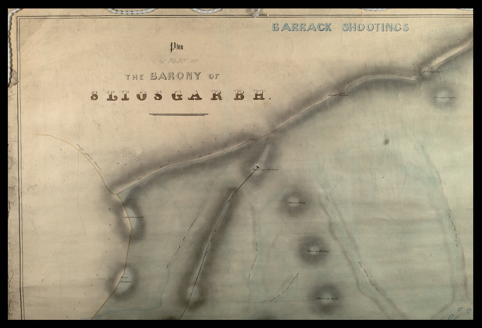 A Plan of Part of the Barony of Sliosgarbh [2 of 3]