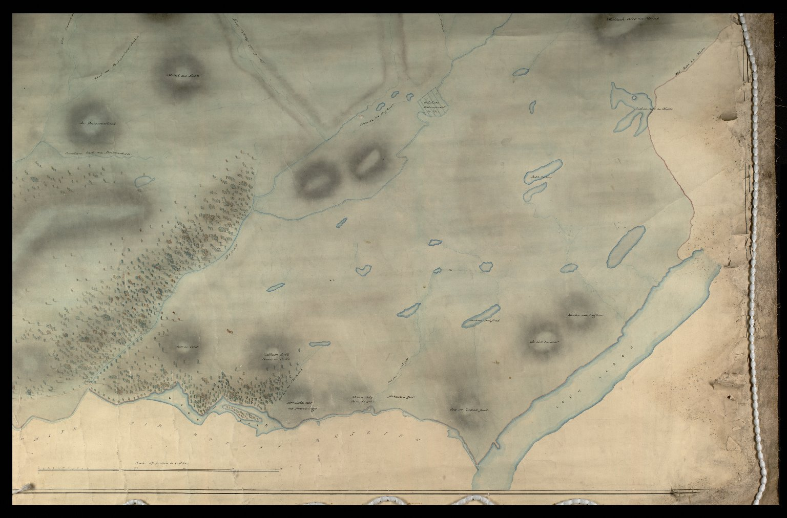 A Plan of Part of the Barony of Sliosgarbh [3 of 4]