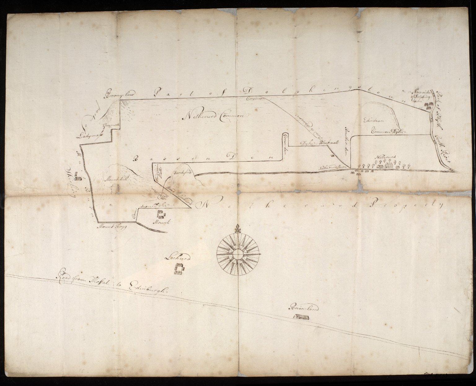 Plan of Netherurd Common [1 of 1]