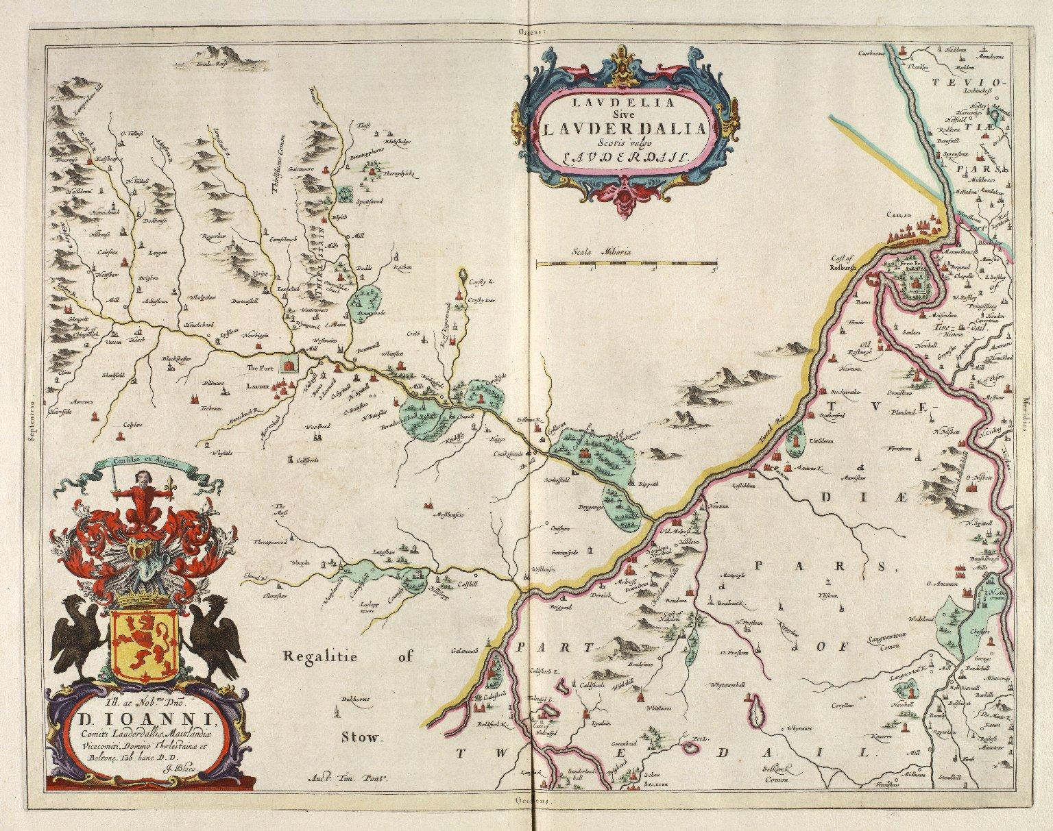 Laudelia sive Lauderdalia : Scotis vulgo, Lauderdail [i.e. Lauderdale] [1 of 1]