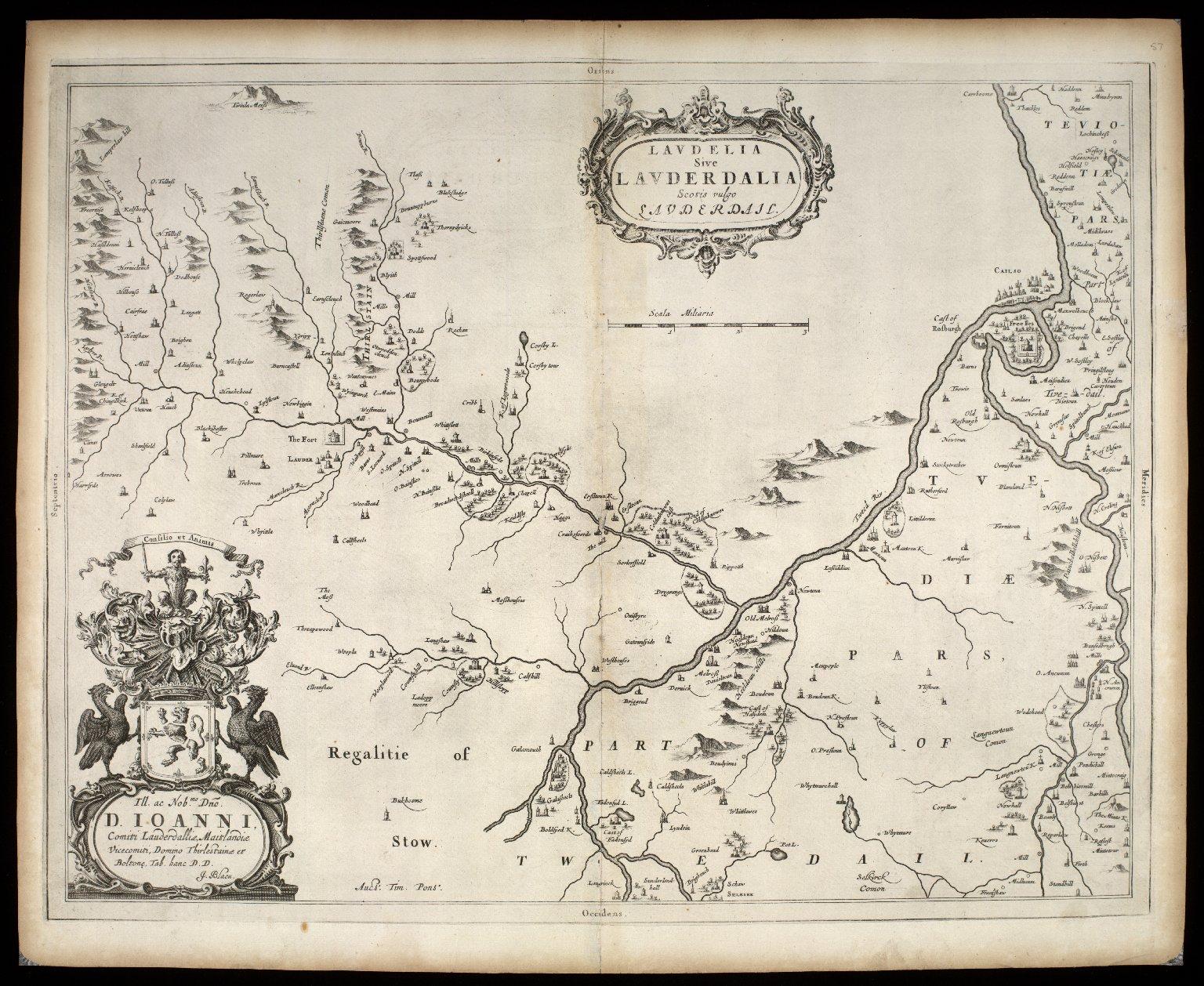 Laudelia sive Lauderdalia, Scotis vulgo, Lauderdail [1 of 1]