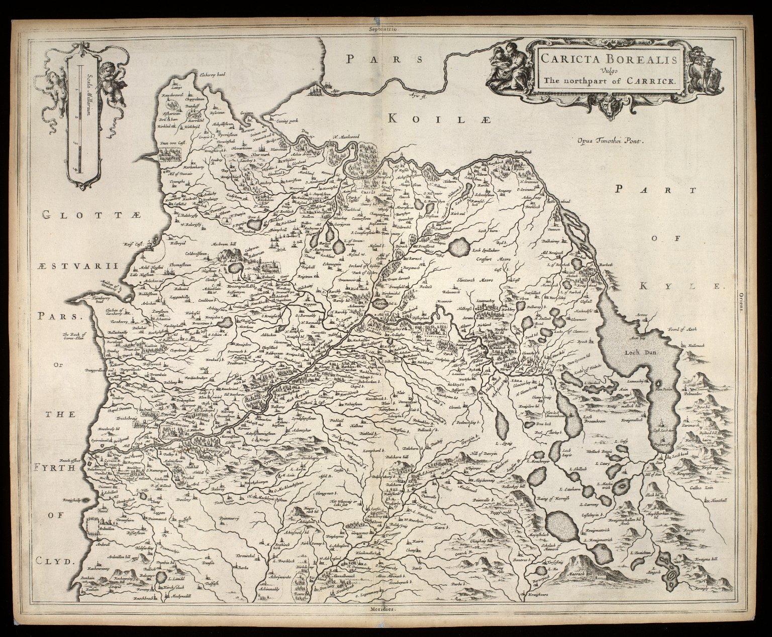 Caricta Borealis, vulgo the northpart of Carrick [1 of 1]