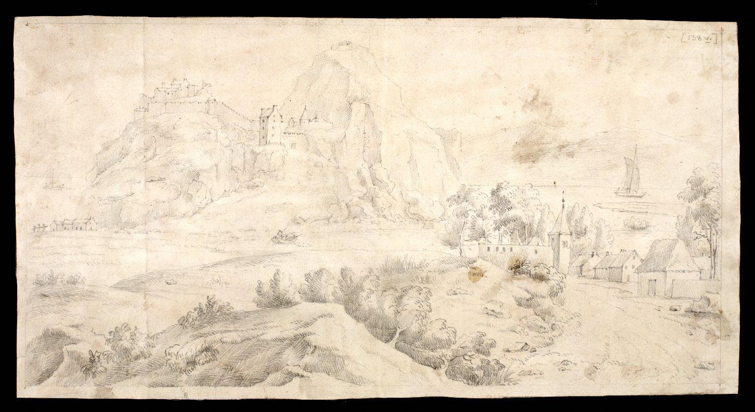 [Sketch of Dumbarton Castle] [1 of 1]
