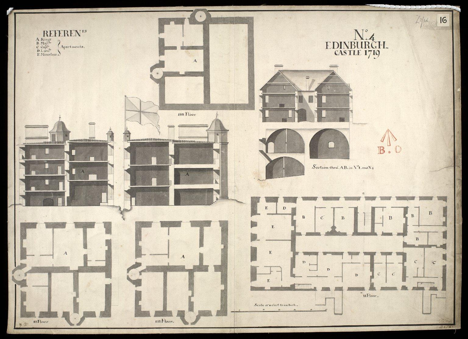 Edinburgh Castle, No. 4, 1719 [1 of 1]