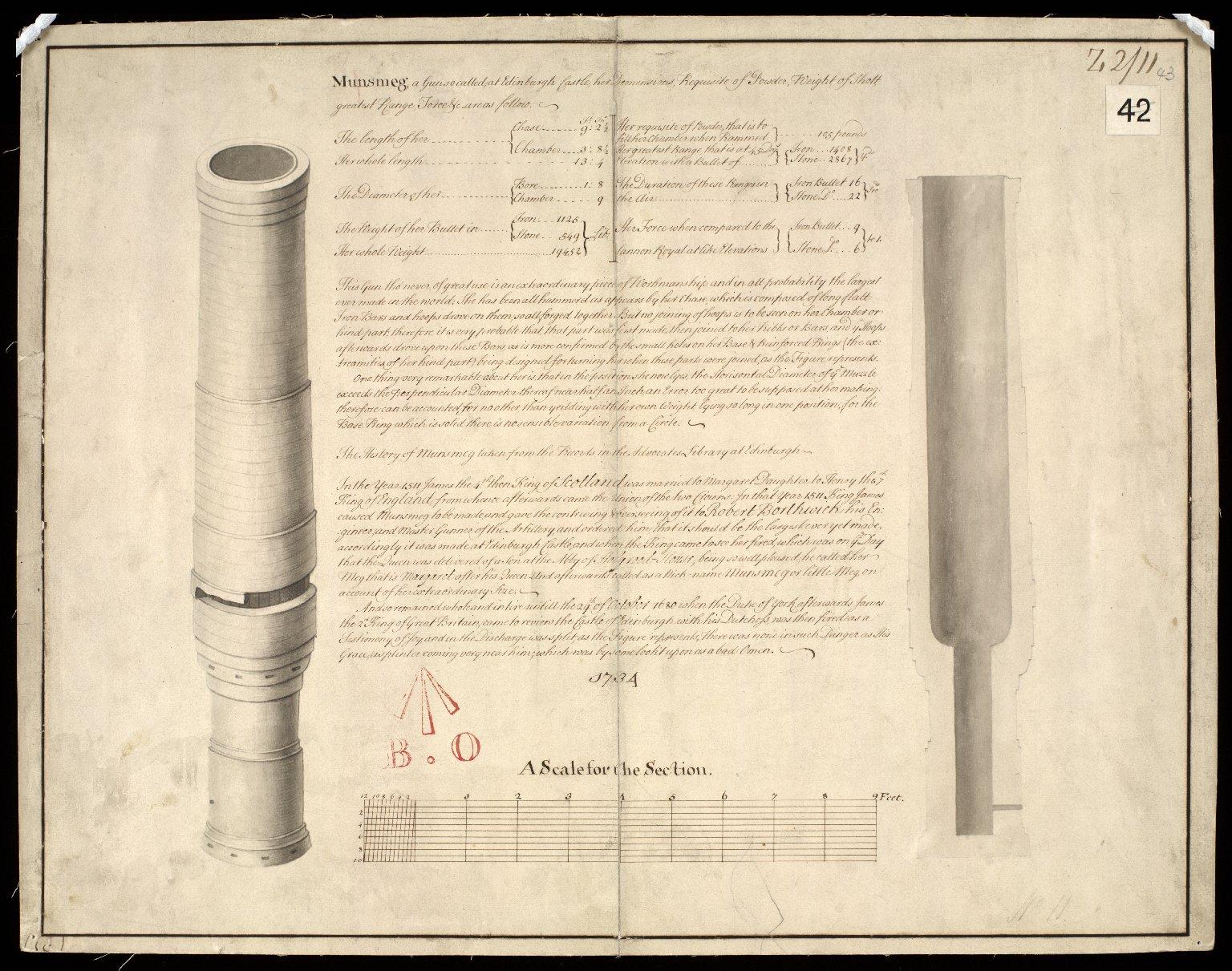 Munsmeg, a Gun so called at Edinburgh Castle [1 of 1]