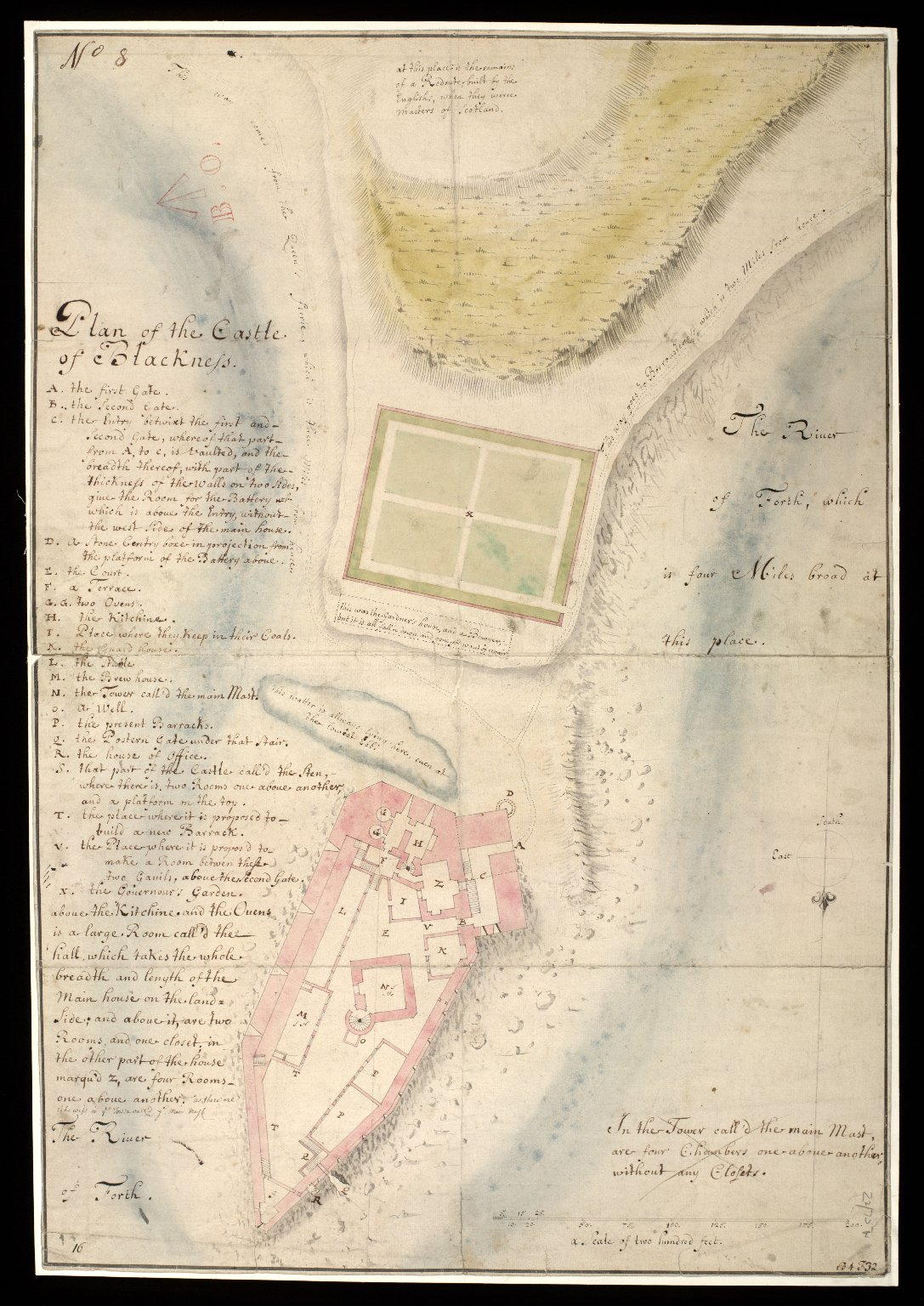 Plan of the Castle of Blackness [1 of 1]