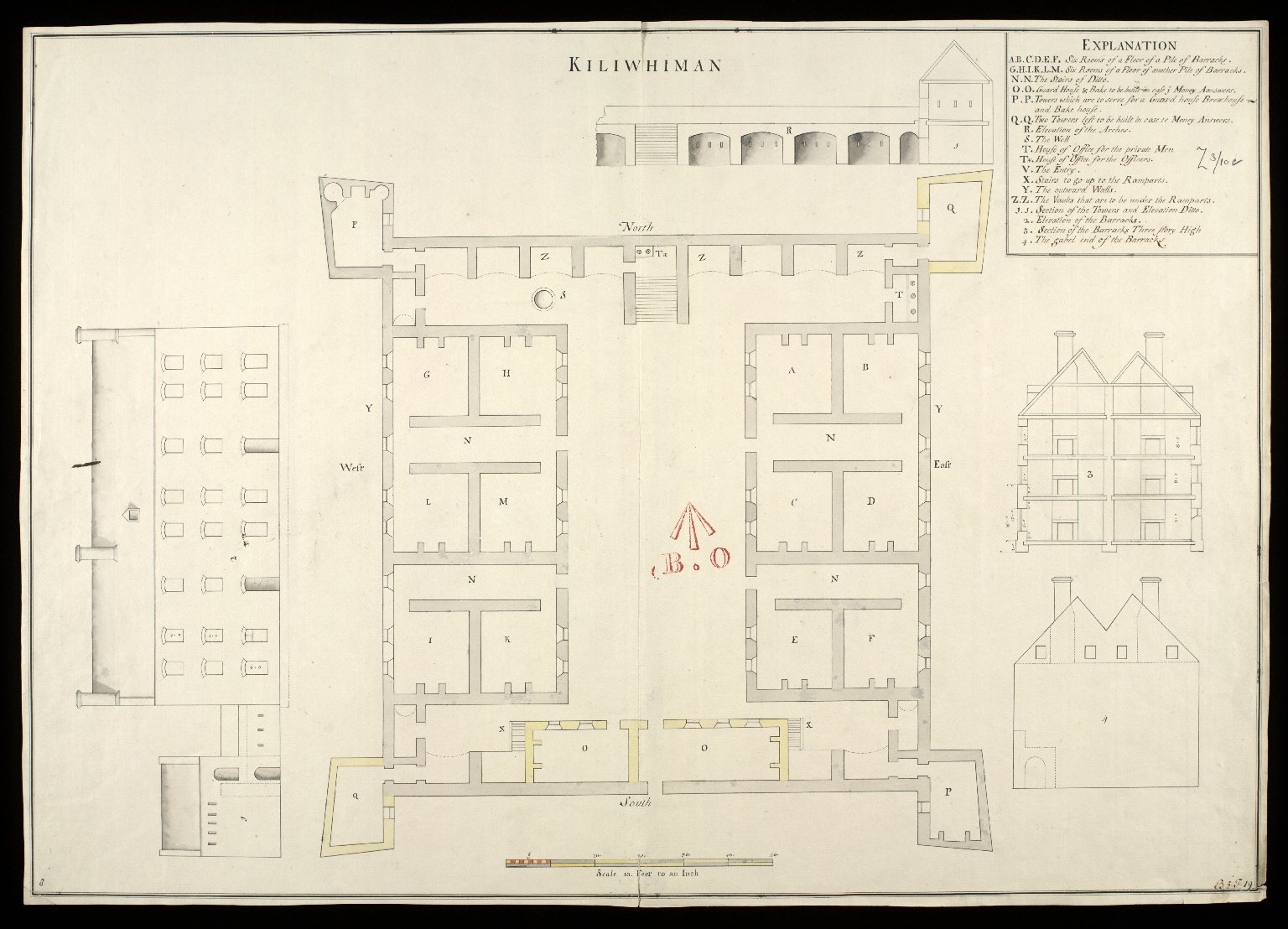 Kiliwhiman [i.e. Kiliwhimen] [1719] [draft] [1 of 1]