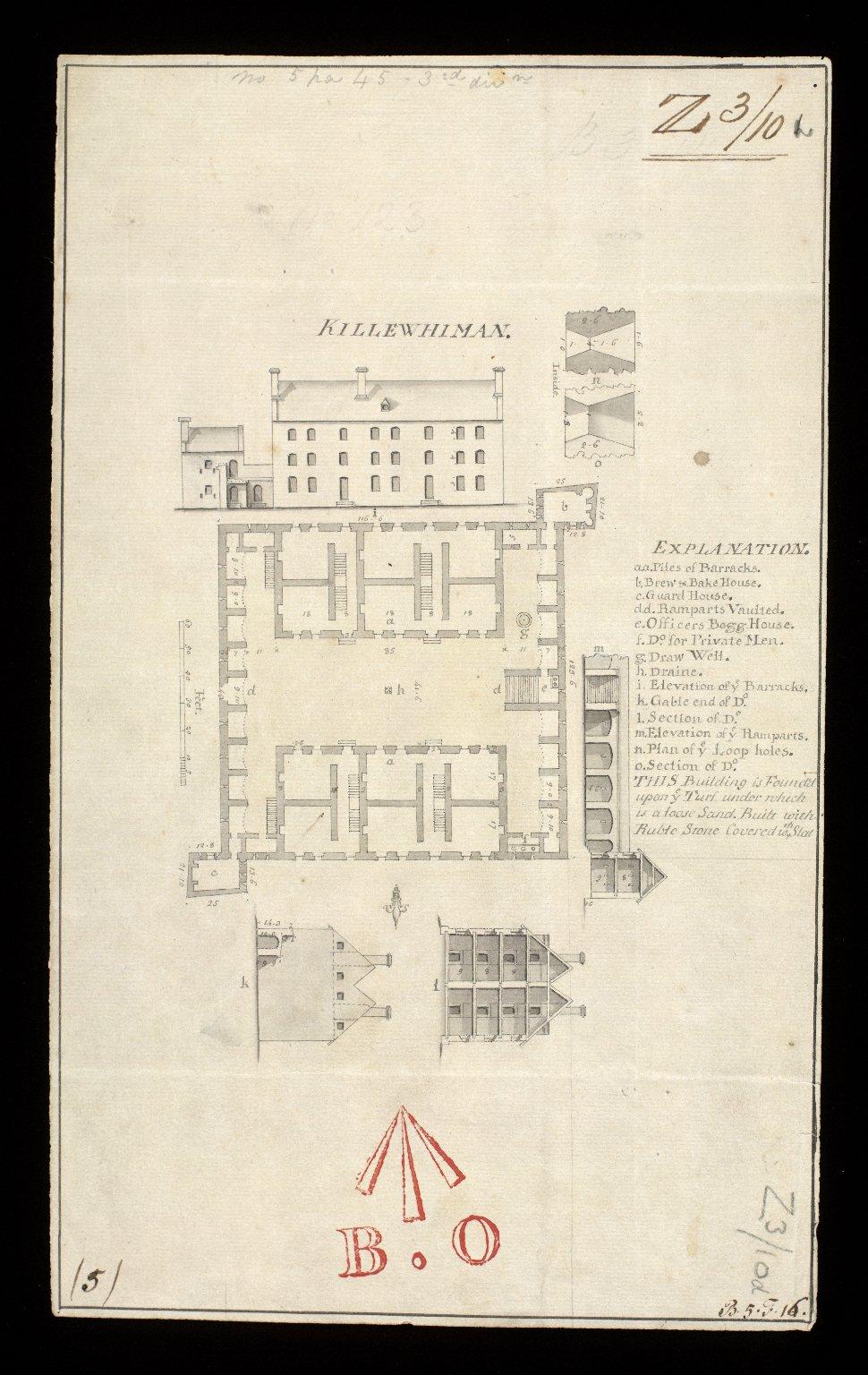 Killewhiman [i.e. Kiliwhimen] [1719] [1 of 1]