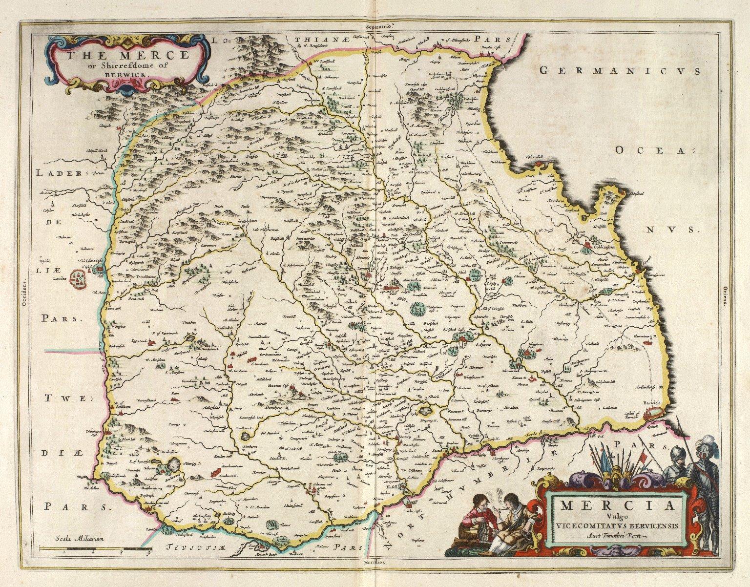 Mercia Vulgo Vicecomitatus Bervicensis [1 of 1]