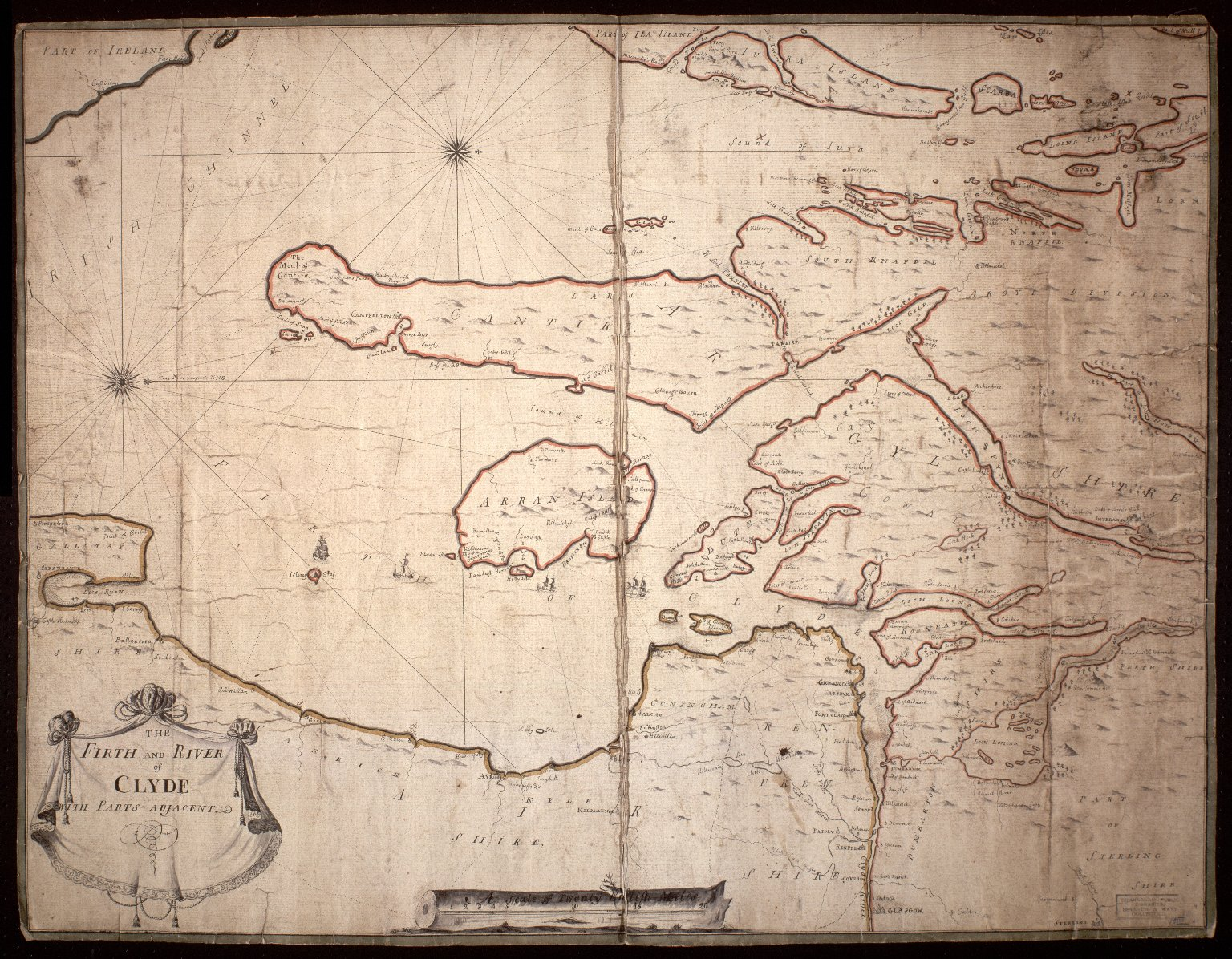 [Map of the Firth & River of Clyde] [1 of 1]