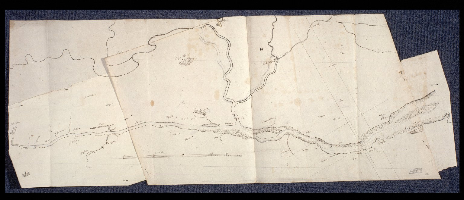 [Copy of part of the survey of the Clyde by John Watt] [1 of 1]