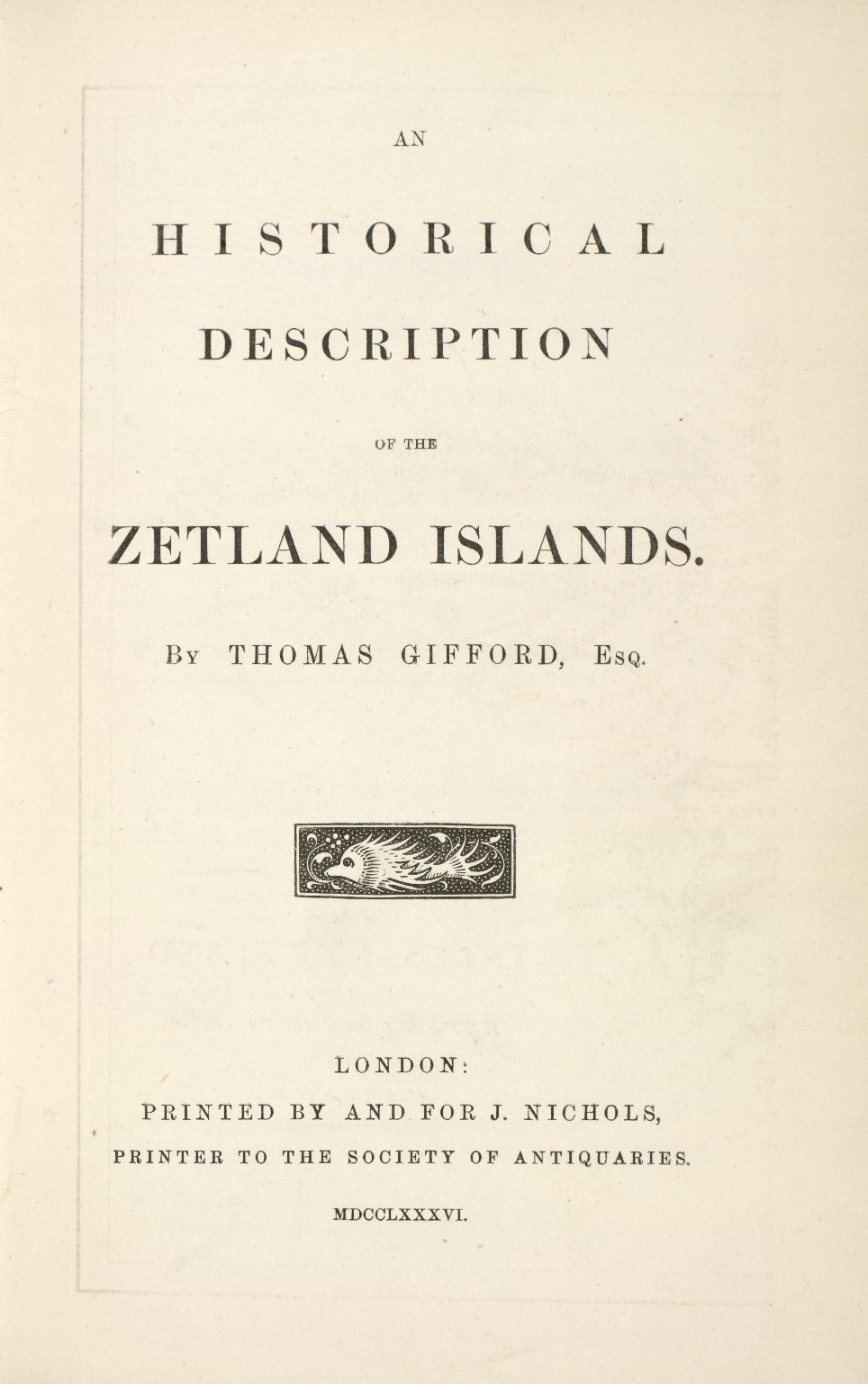 Historical Description of the Zetland Islands in the year 1733. [09 of 25]