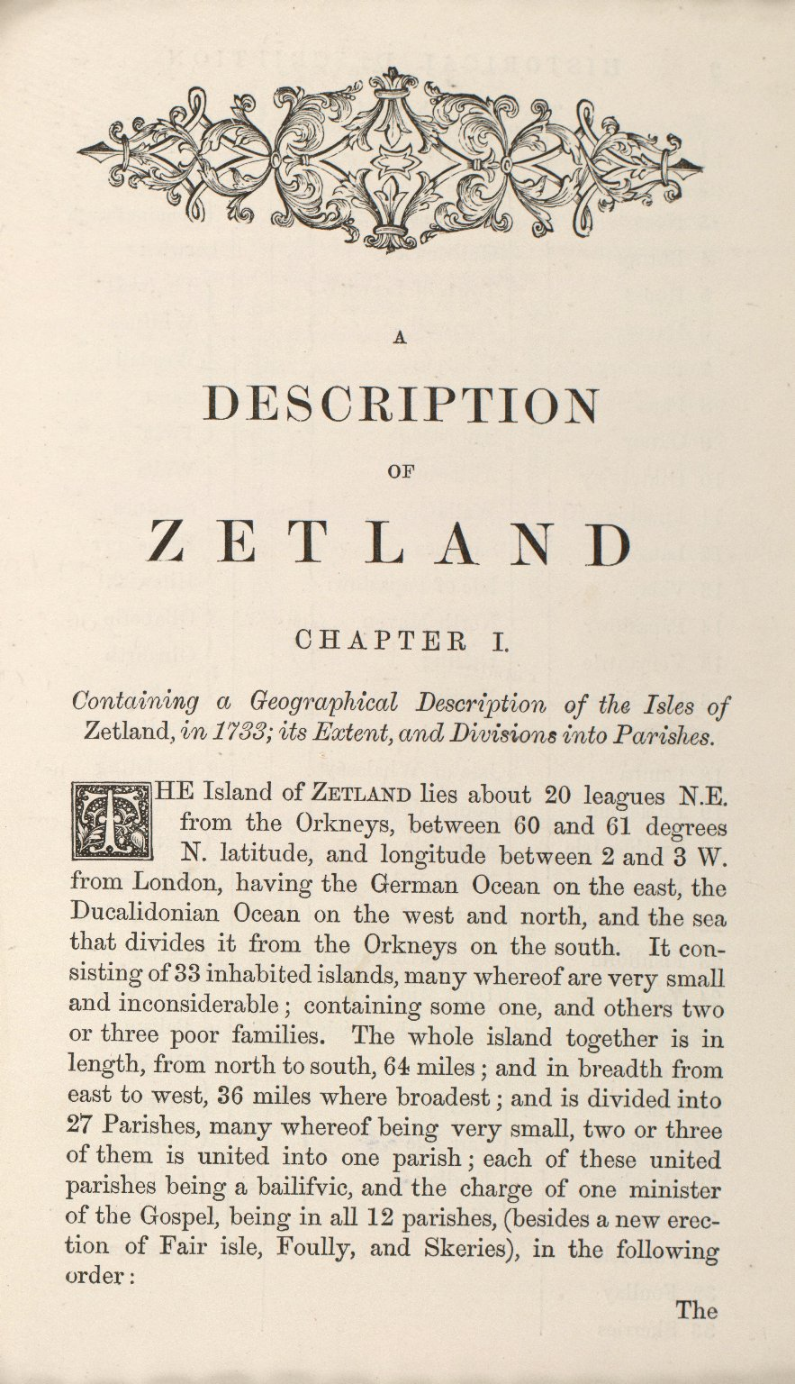 Historical Description of the Zetland Islands in the year 1733. [17 of 25]
