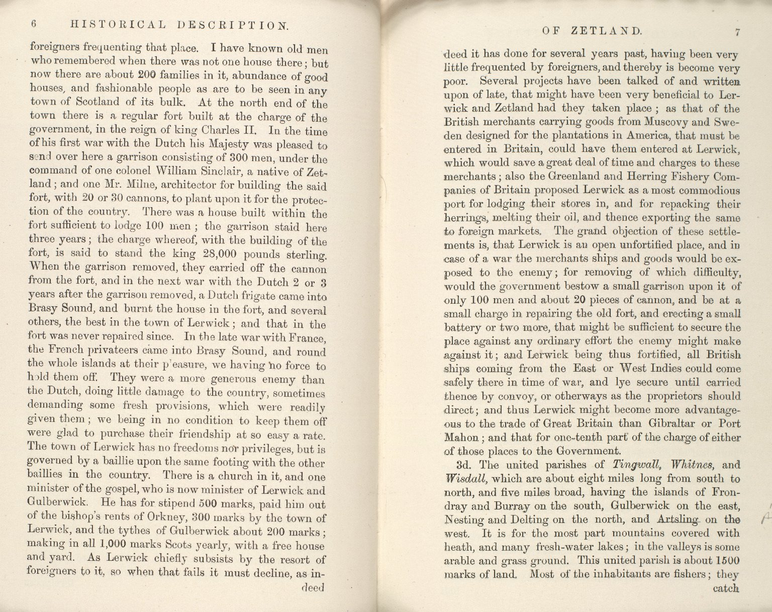 Historical Description of the Zetland Islands in the year 1733. [20 of 25]