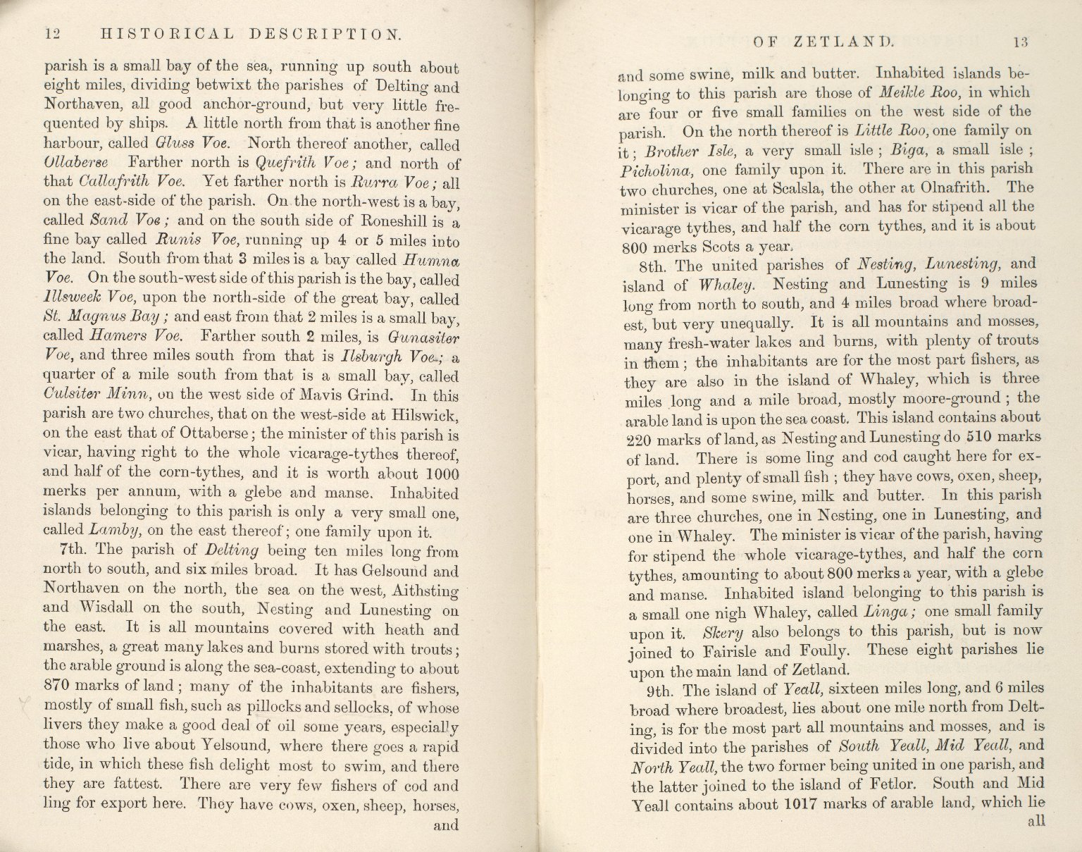 Historical Description of the Zetland Islands in the year 1733. [23 of 25]