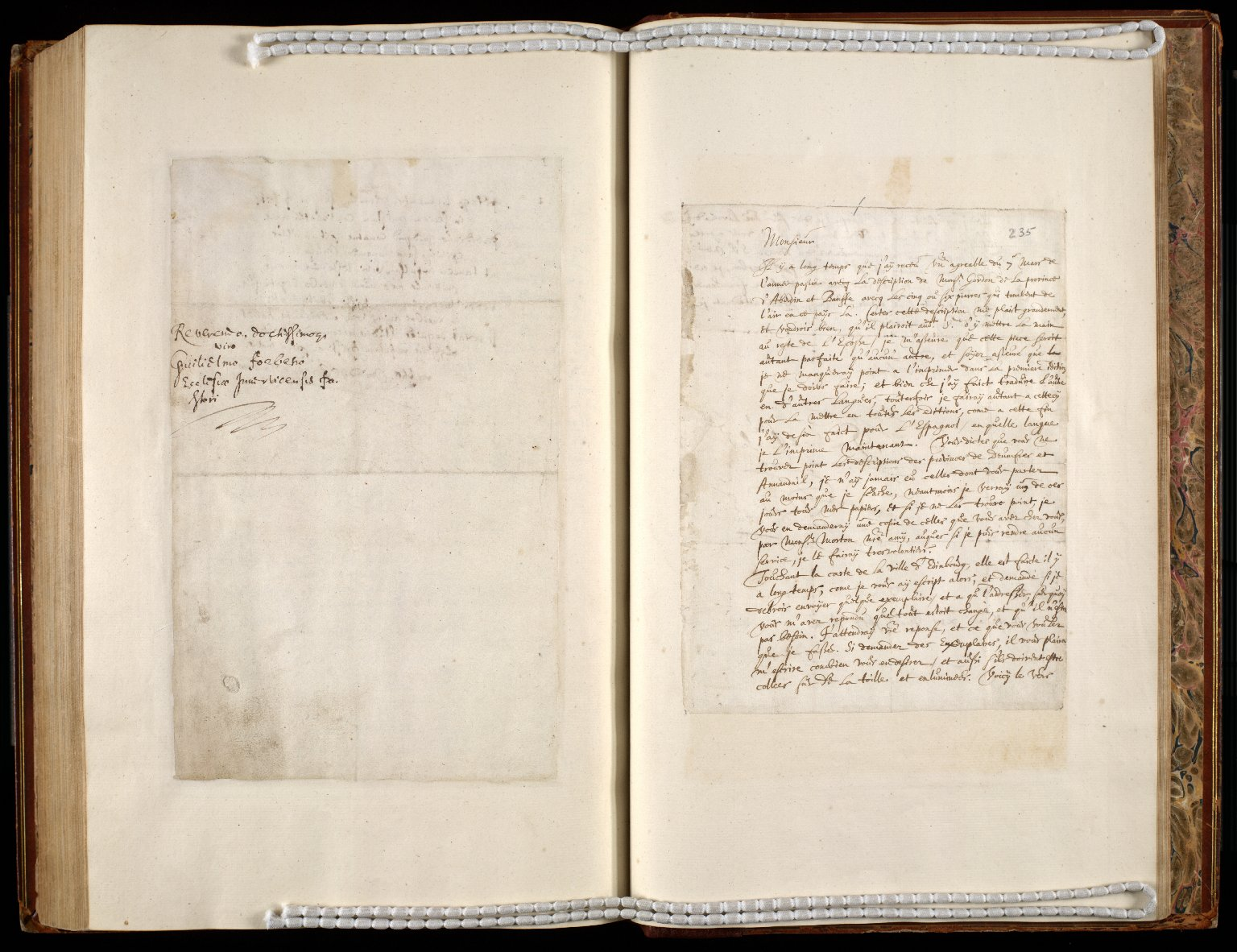 [A collection of ALS to Sir John Scot, Lord Scotstarvet, from W.J. and Joan Blaeu, Amsterdam] [25 of 27]