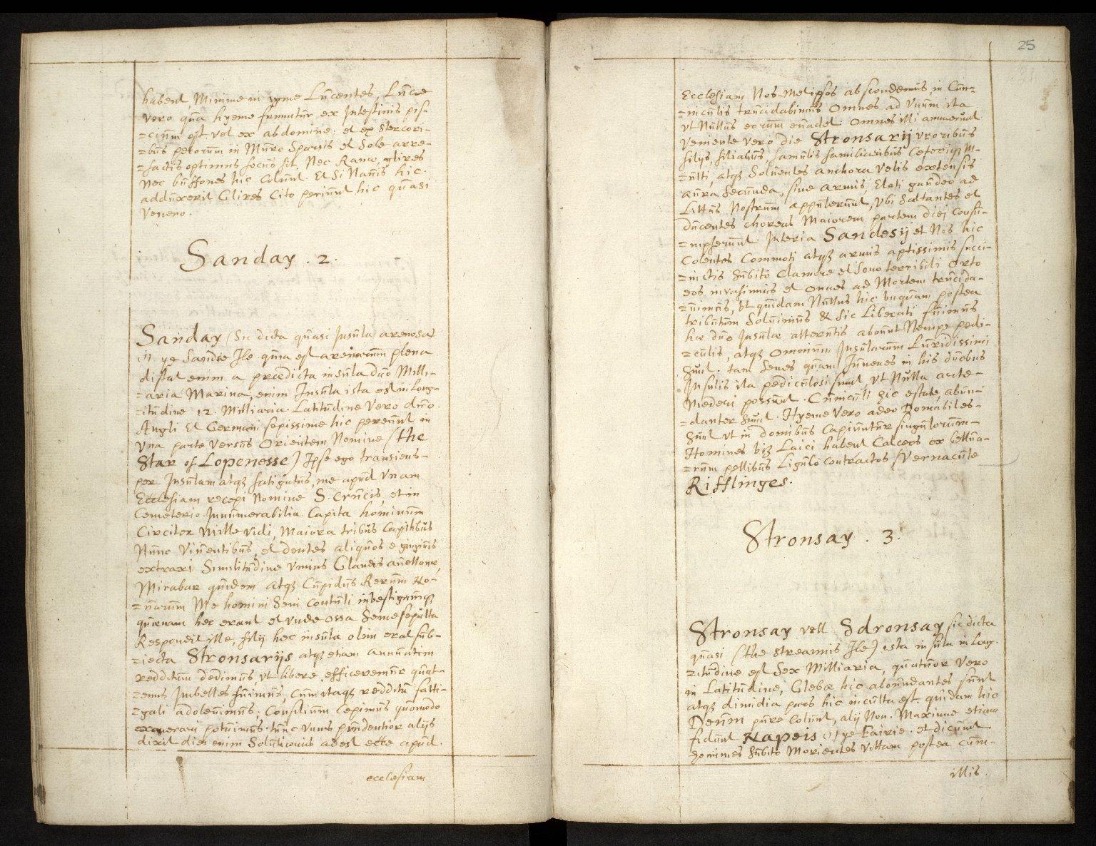 Descriptio Insularum Orchadiarum [02 of 10]