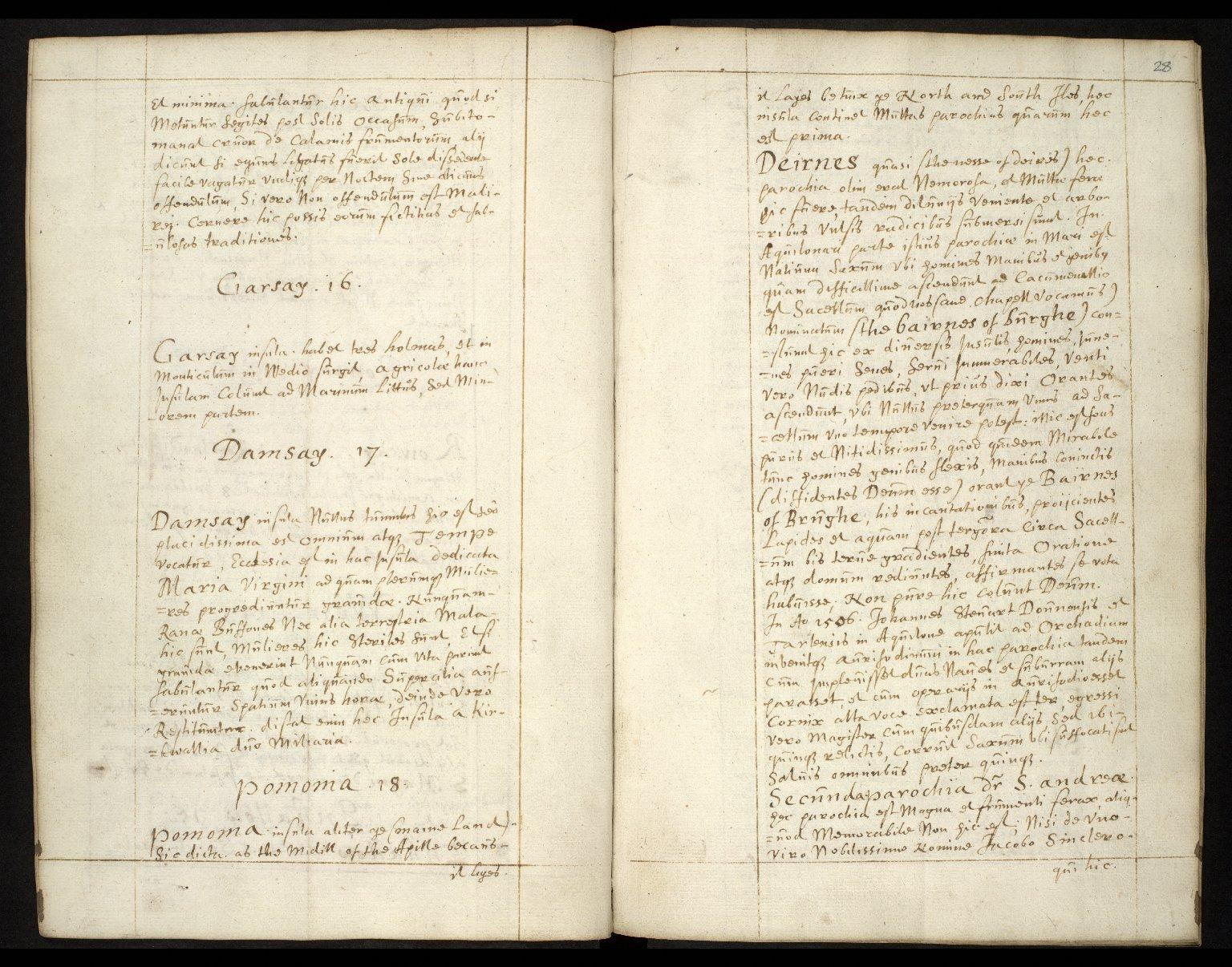 Descriptio Insularum Orchadiarum [05 of 10]