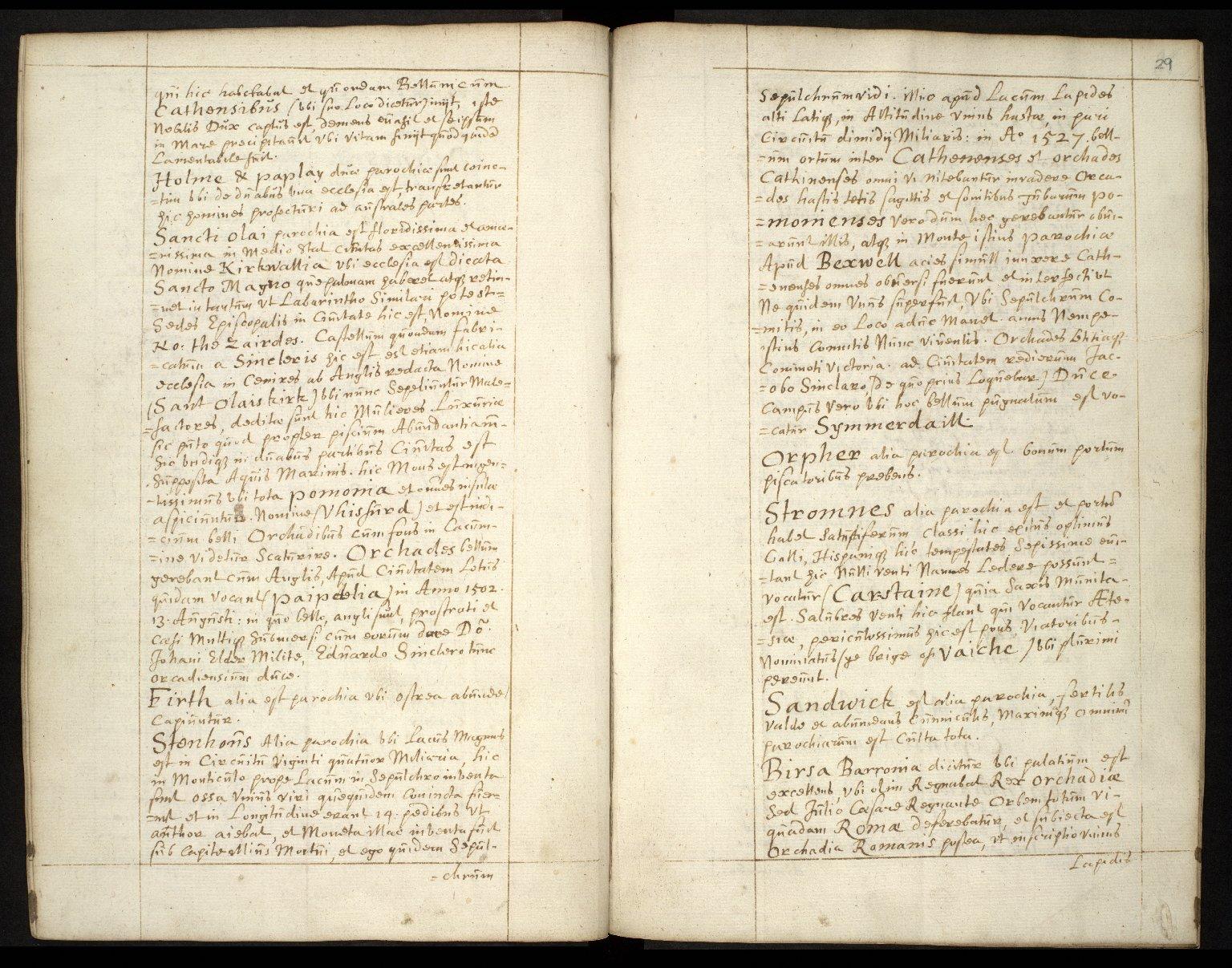 Descriptio Insularum Orchadiarum [06 of 10]