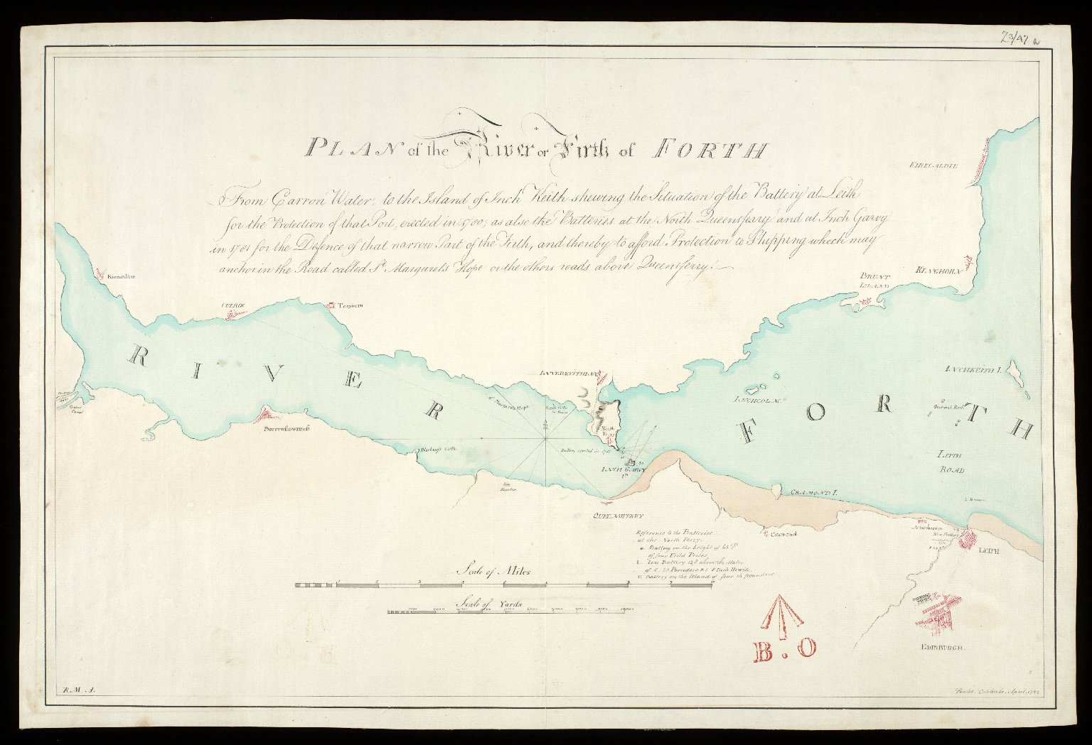 Plan of the River or Firth of Forth [1 of 1]