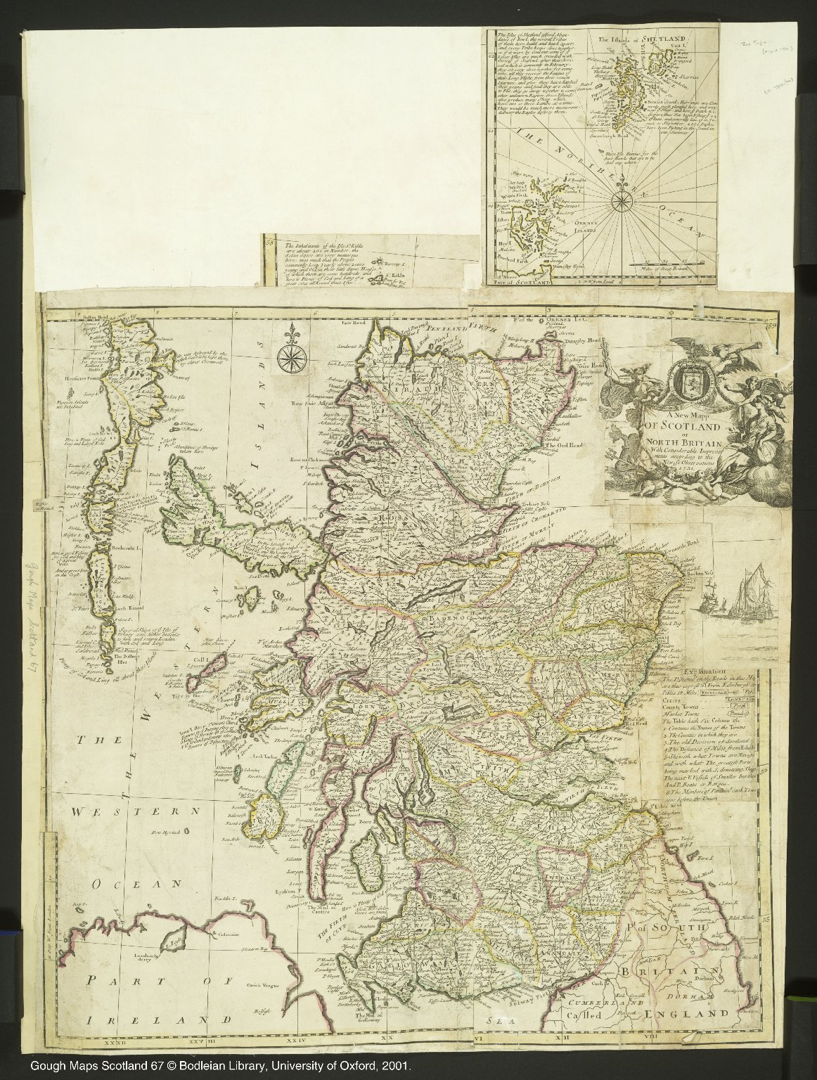 A Mew Mapp OF SCOTLAND or NORTH BRITAIN [1 of 1]