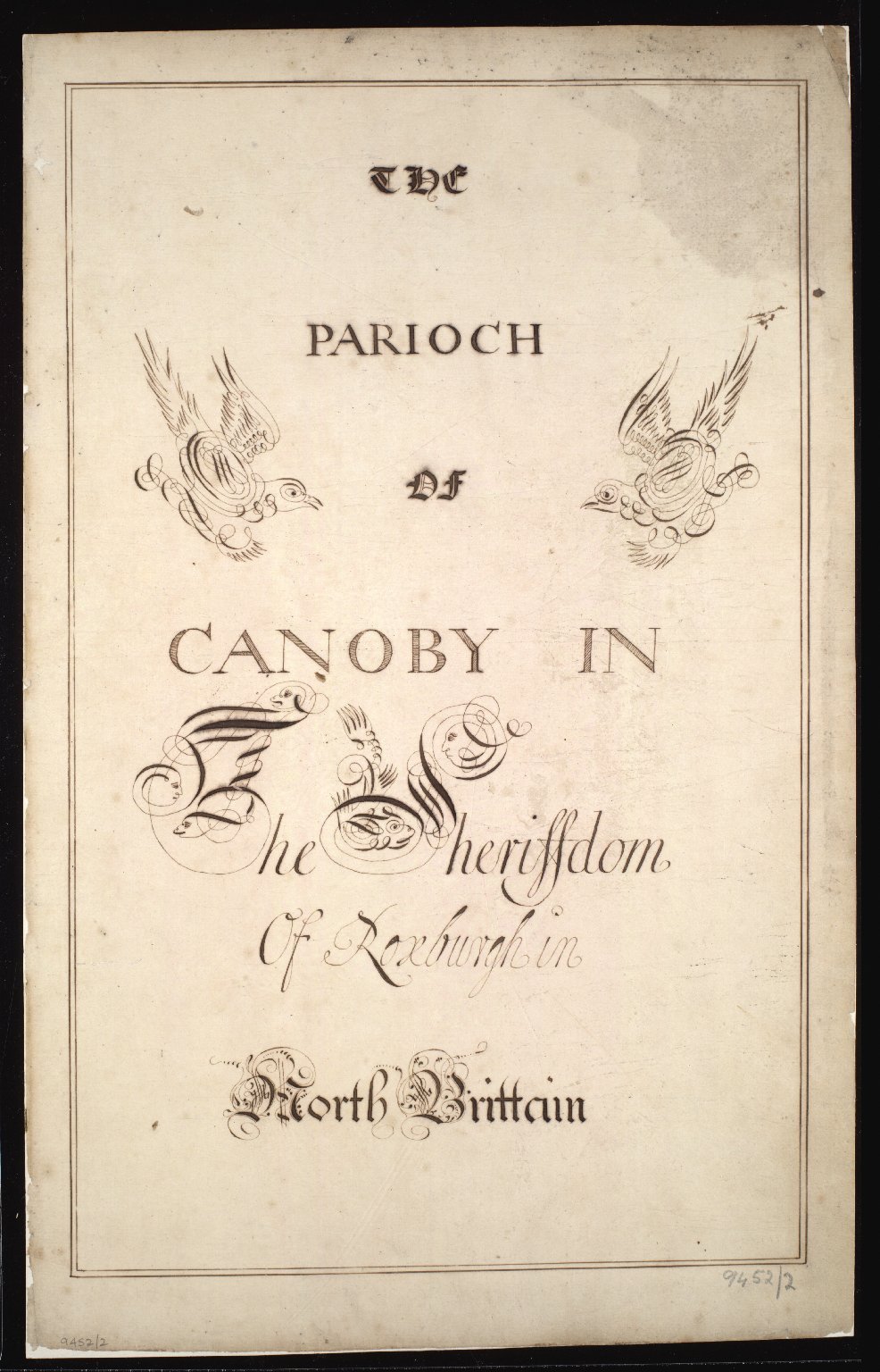 The Parioch of Canoby [Canonbie] in the Sheriffdom of Roxburgh in North Britain [2 of 3]