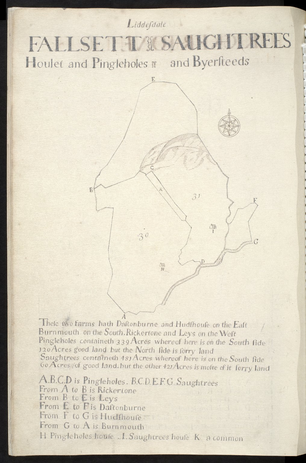 Liddesdale : Fallsett, Saughtrees, [1 of 1]