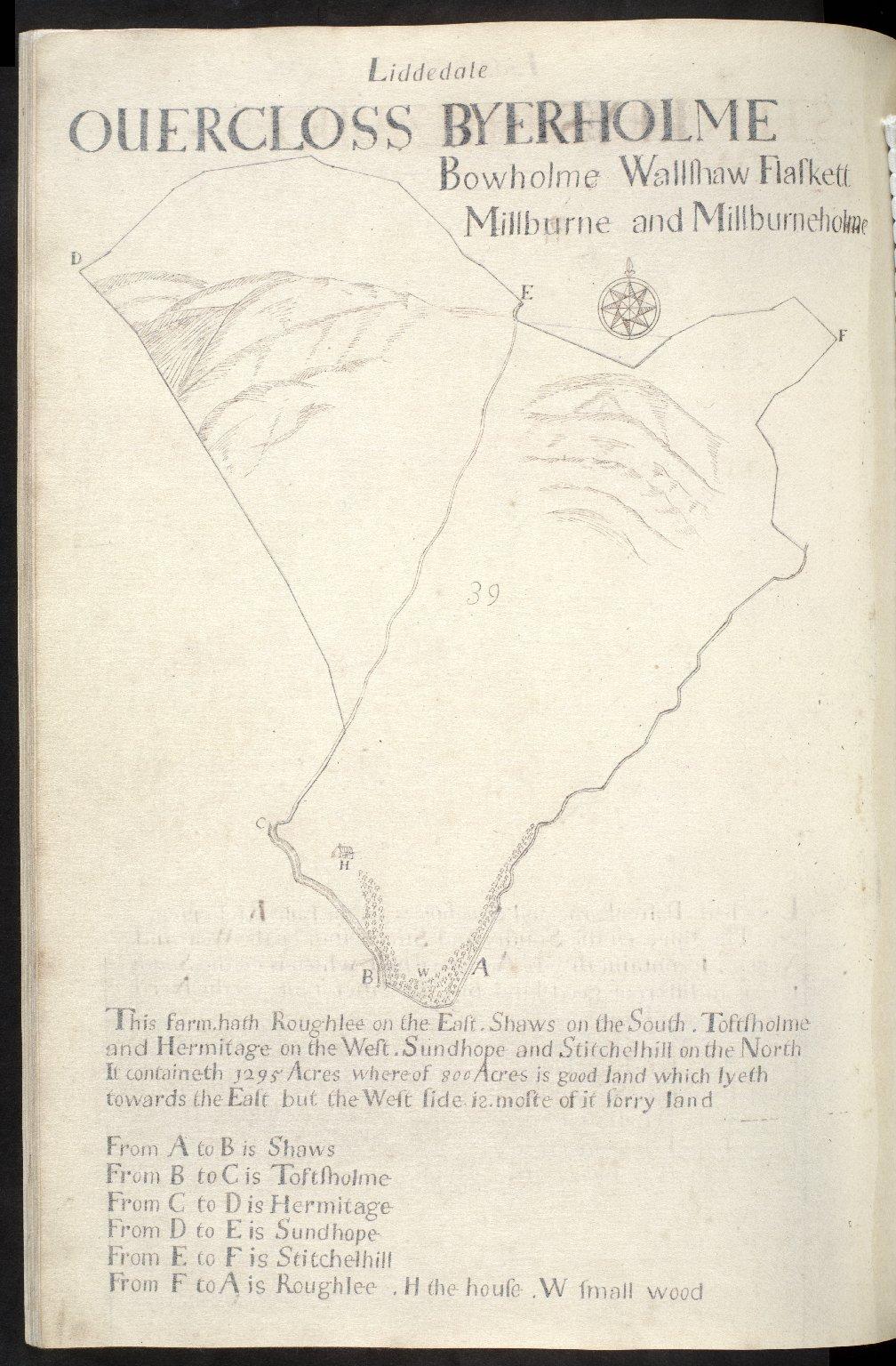 Liddesdale : Ouercloss, Byerholme, [1 of 1]