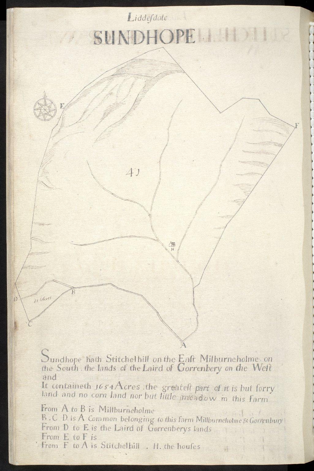 Liddesdale : Sundhope [1 of 1]