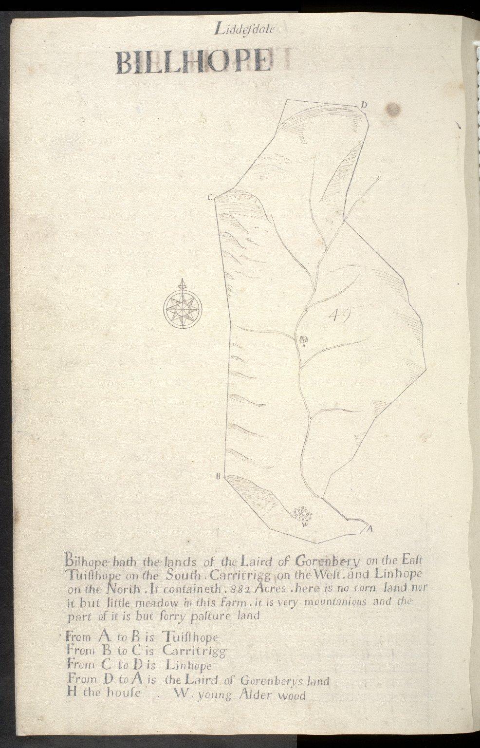 Liddesdale : Billhope [1 of 1]