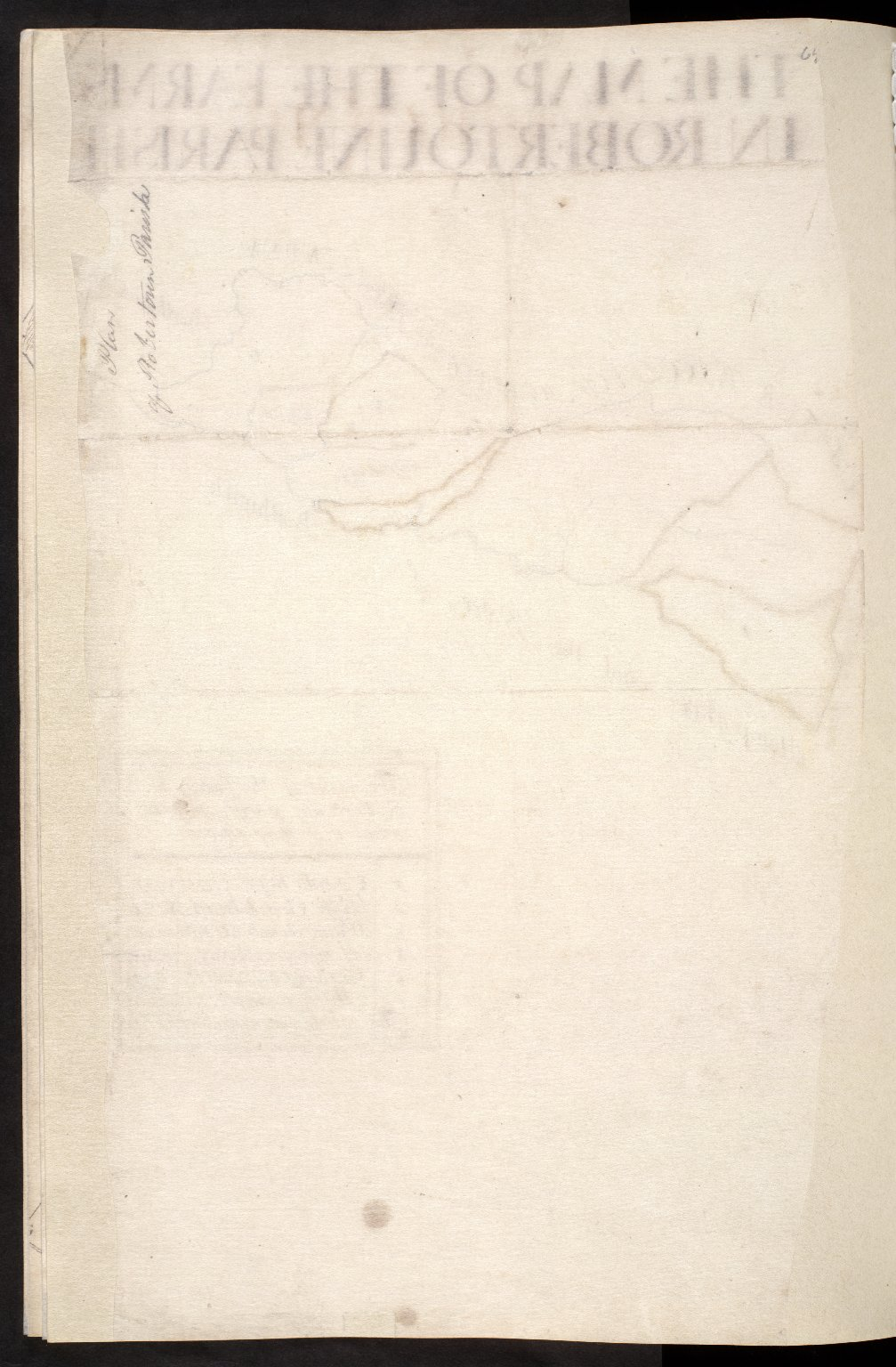 The Map of the Farms in Robertoune Parish [2 of 2]