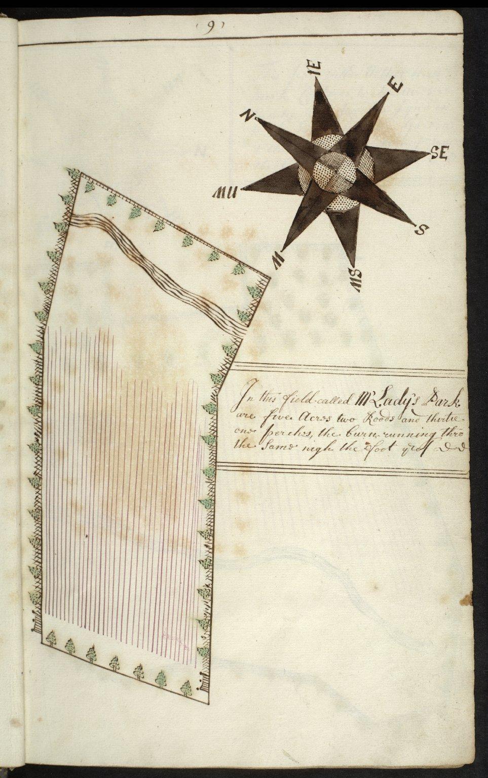 Sir John Rutherfurd of the Ilk His Book 1724 [12 of 24]