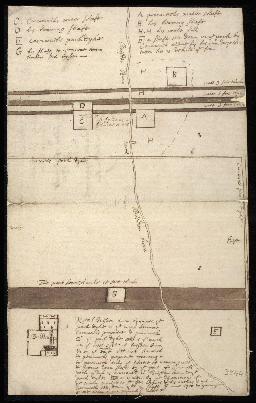 Memoir Anent Carnwaths Encroachments & a schem of coals 1701 [1 of 1]