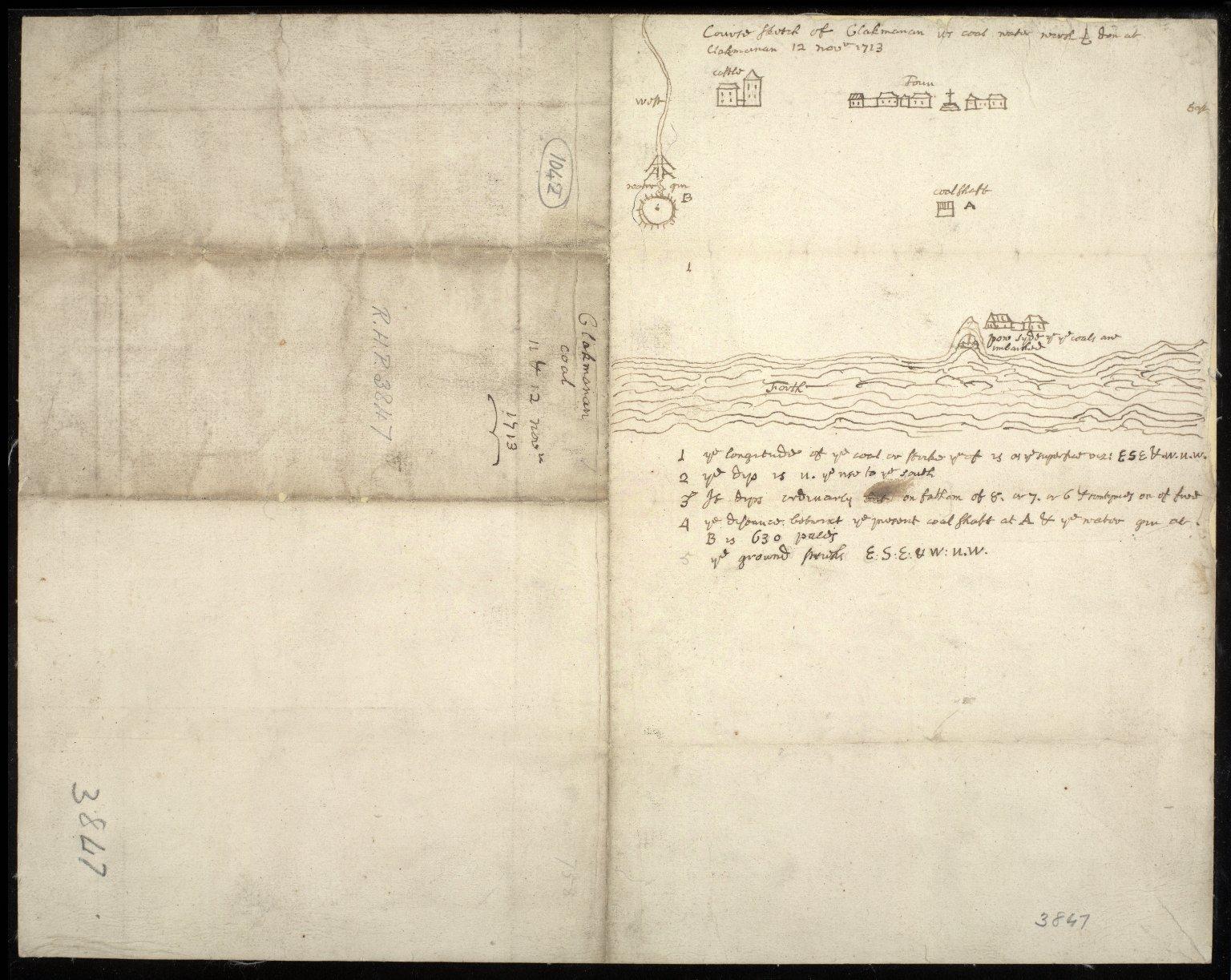 Clakmanan coal 11 & 12 novr 1713 [1 of 1]