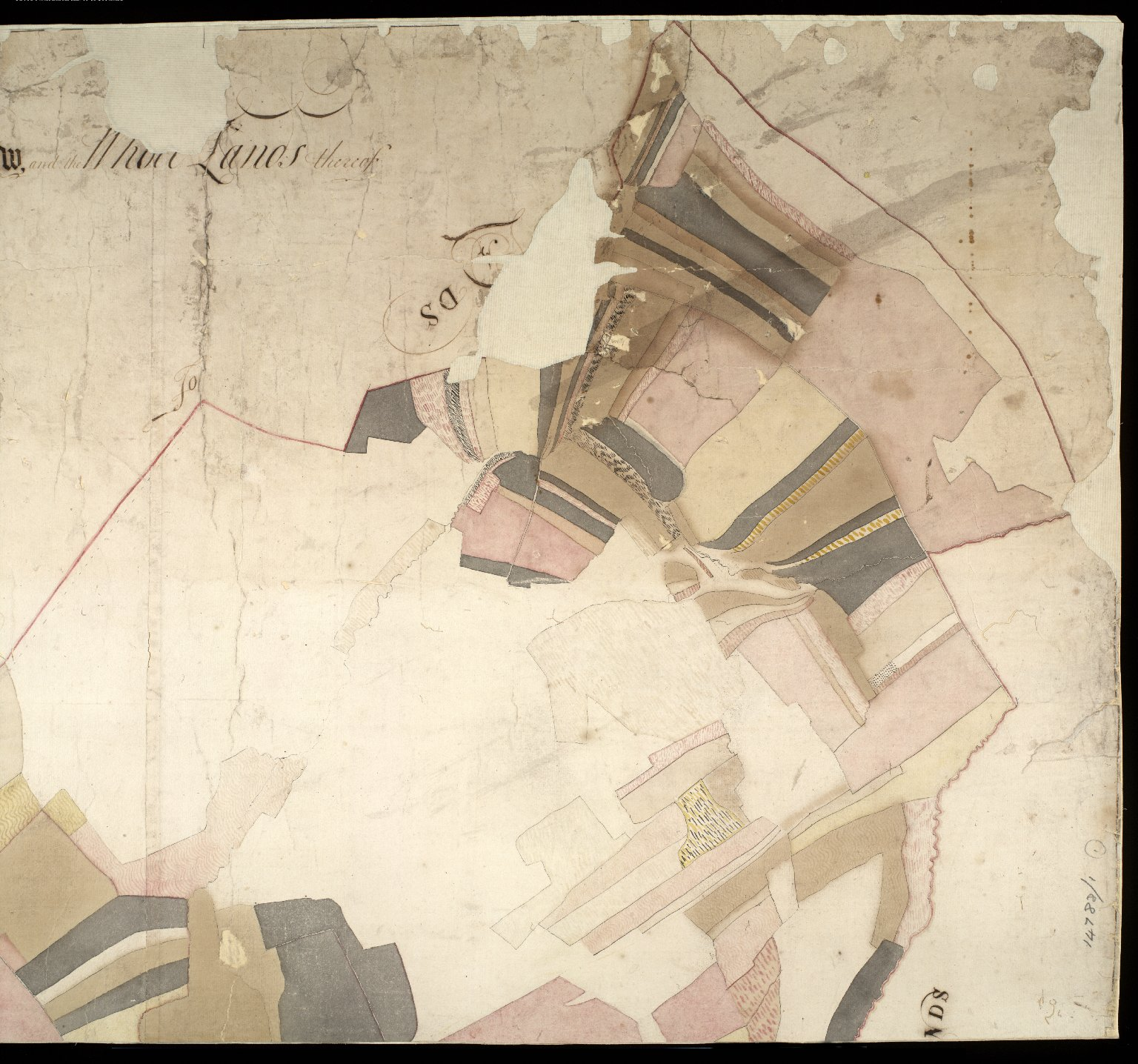An Exact Map of Edincraw and Those Lands Thereof [2 of 6]