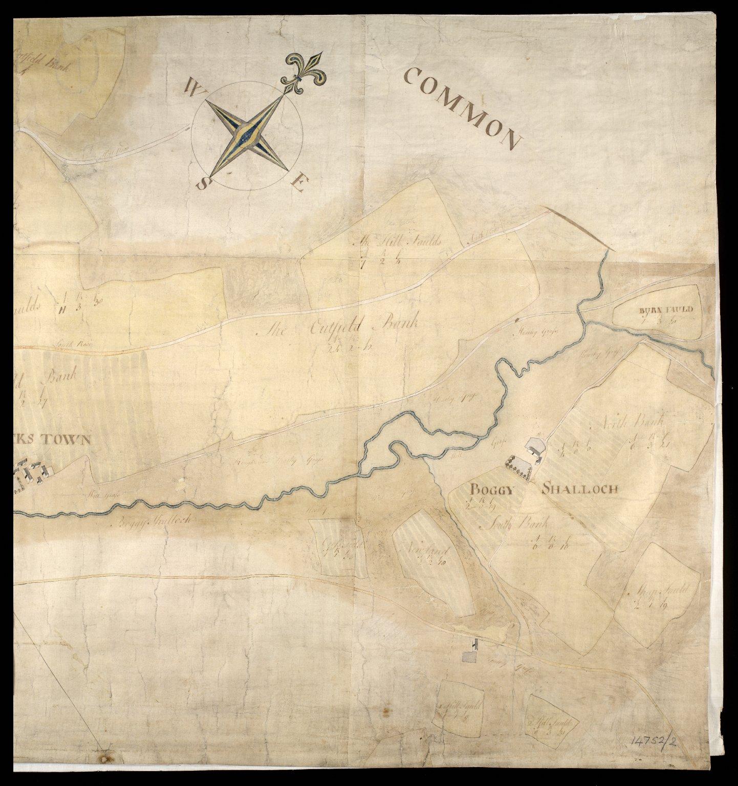 Plan of Estate Terpersie Belonging to James Gordon of Moorplace [4 of 4]