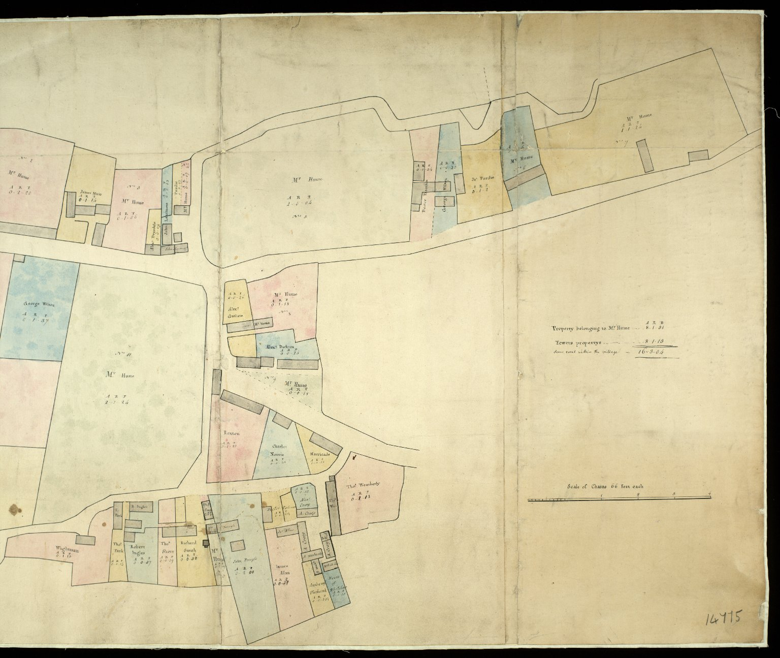 Plan of the Village of Paxton [2 of 2]
